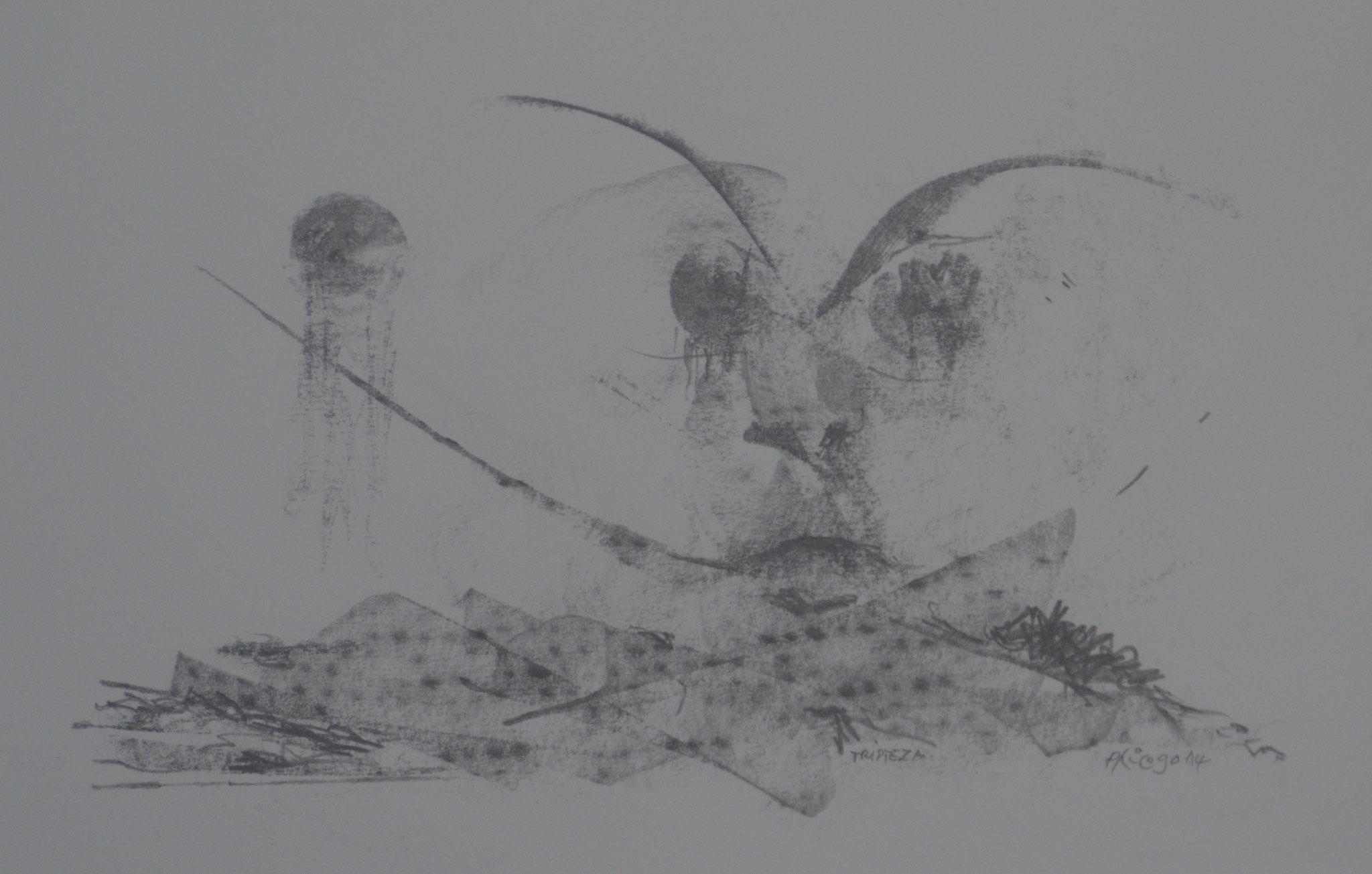TRISTEZA-2014-dessin 20x33cm