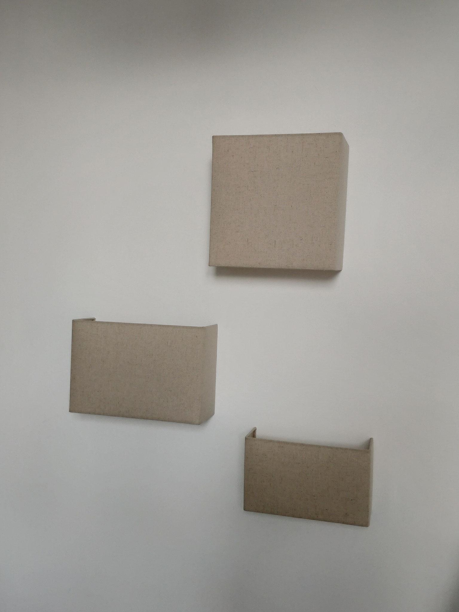 Applique murale carrée M / rectangulaire M et S