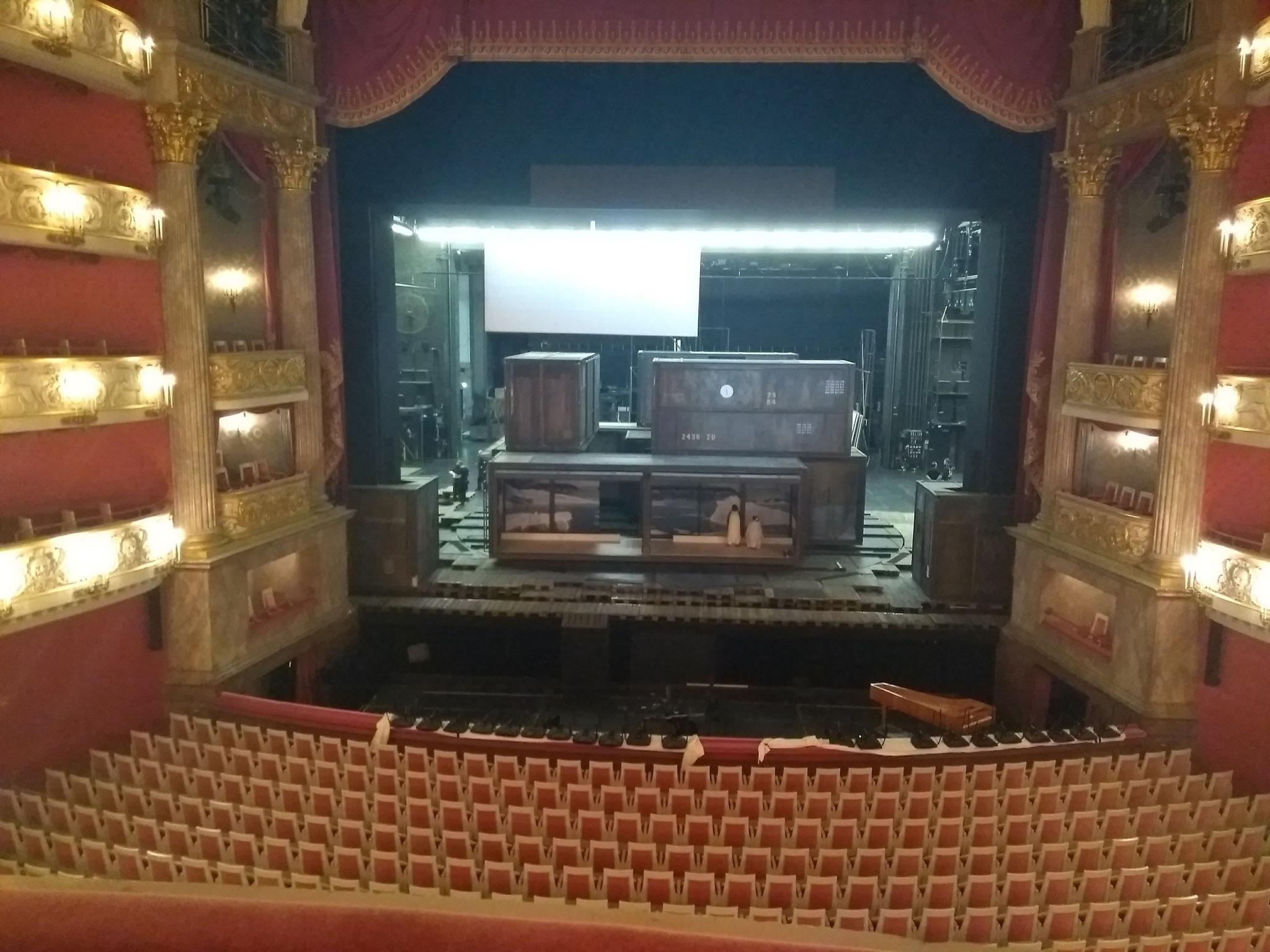 バイエルン歌劇場での新国立劇場オペラ研修生の2週間の研修にて、ピアニスト兼通訳として参加させていただきました。(ドイツ・ミュンヘン2019年3月)