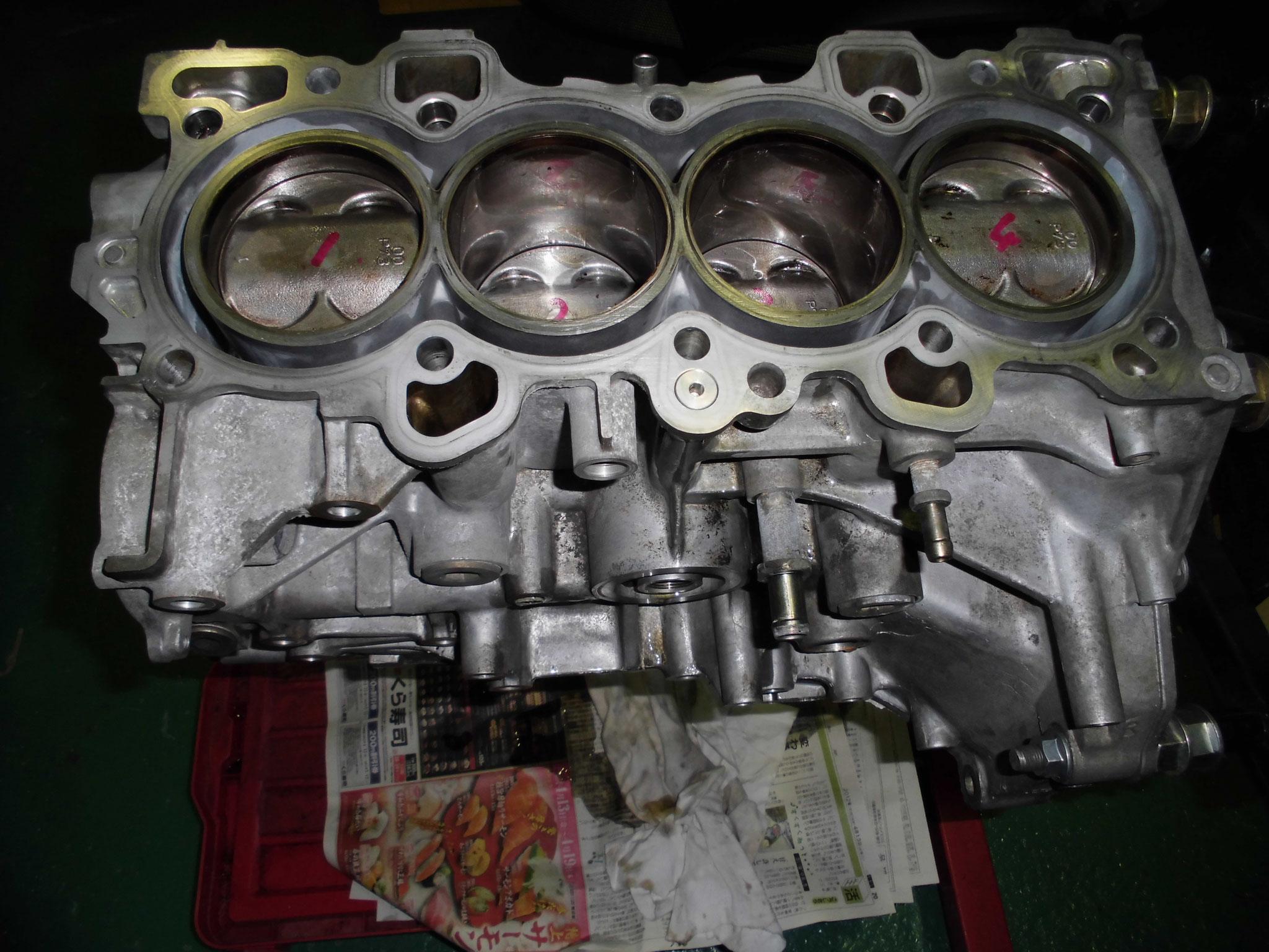 DC2 エンジンオーバーホール