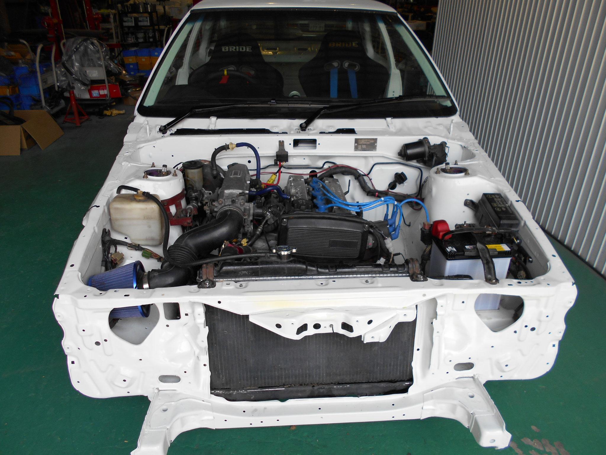 AE86レビン