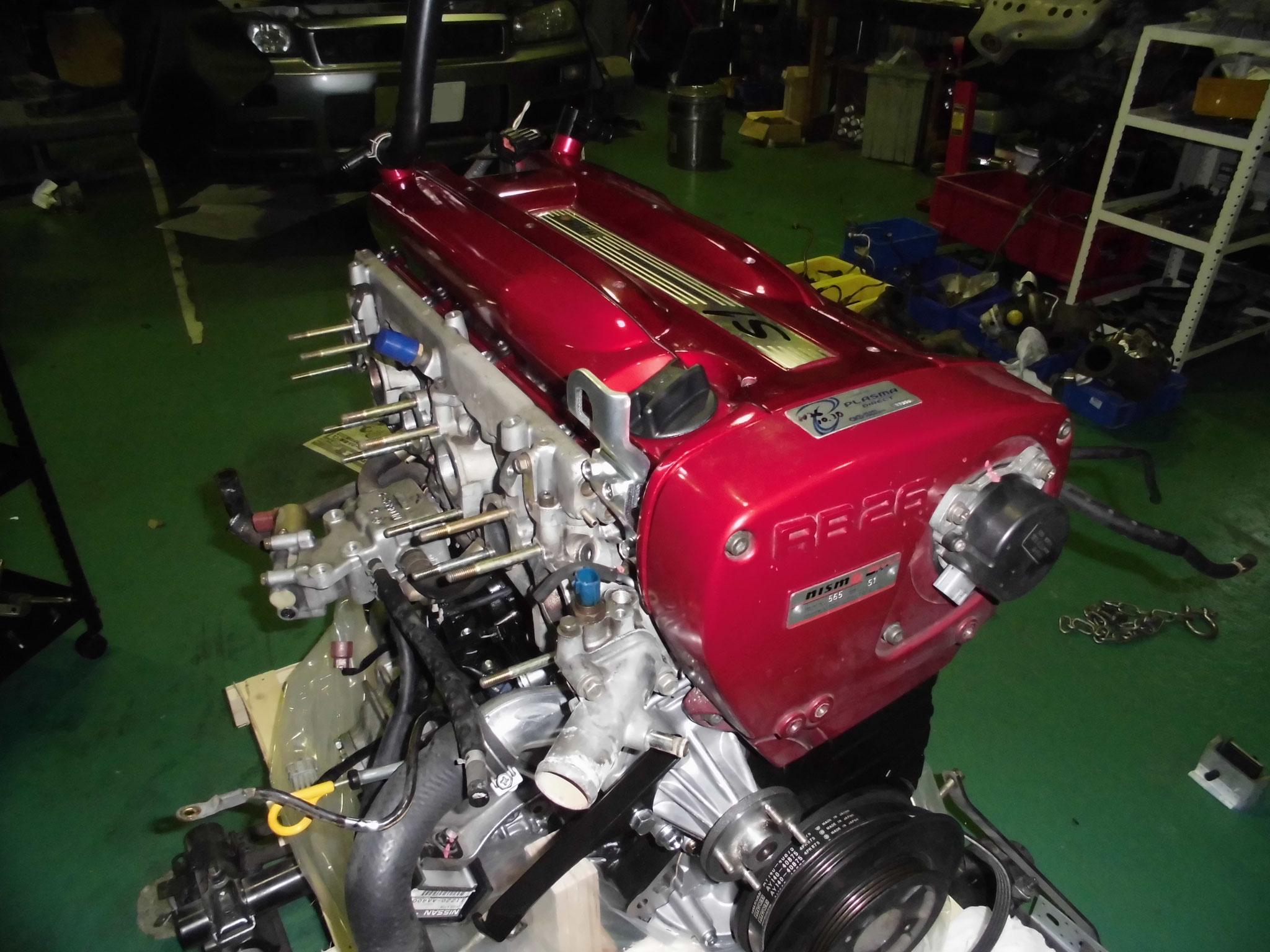 R34 エンジン