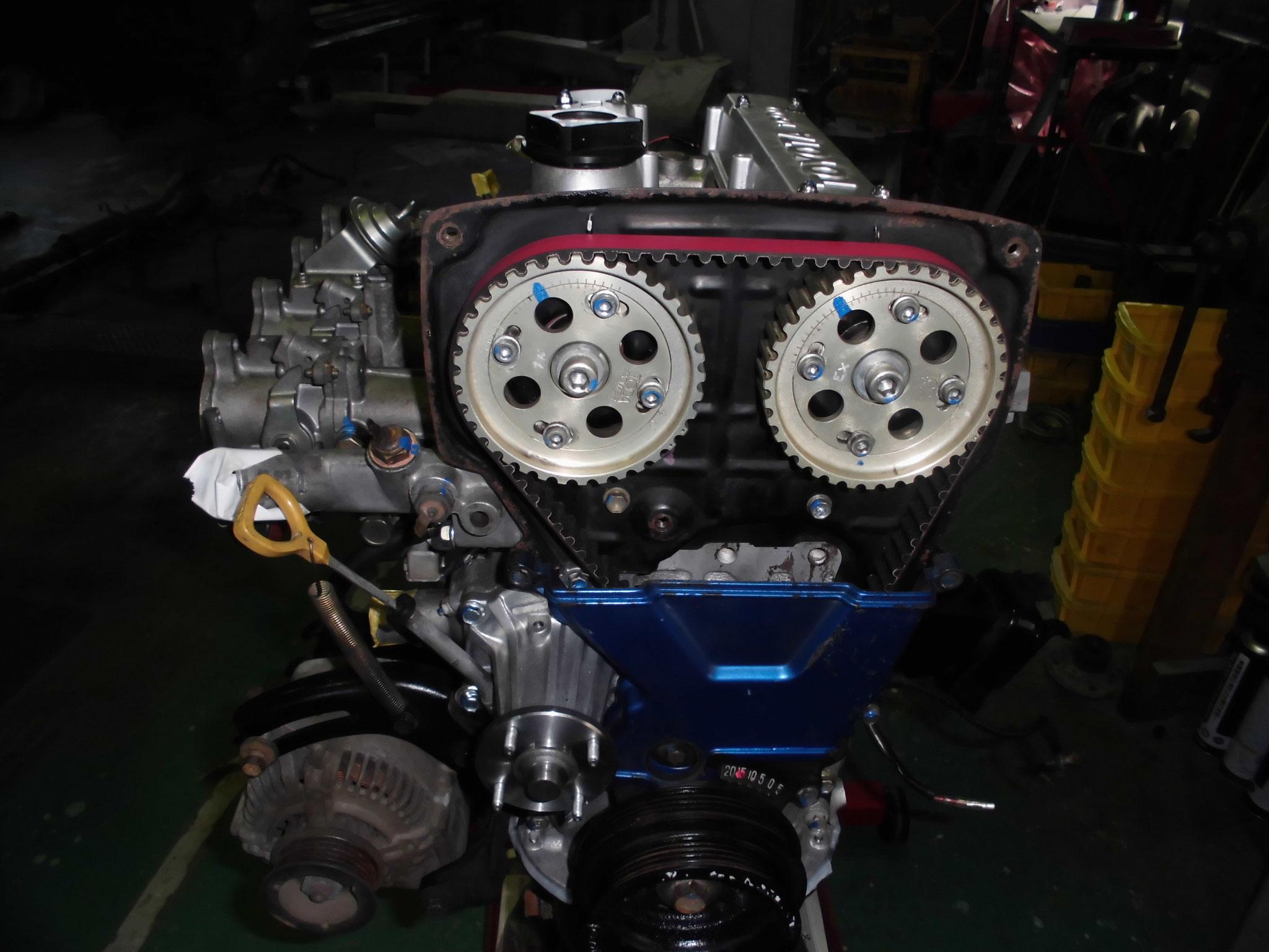 AE86タイミングベルト