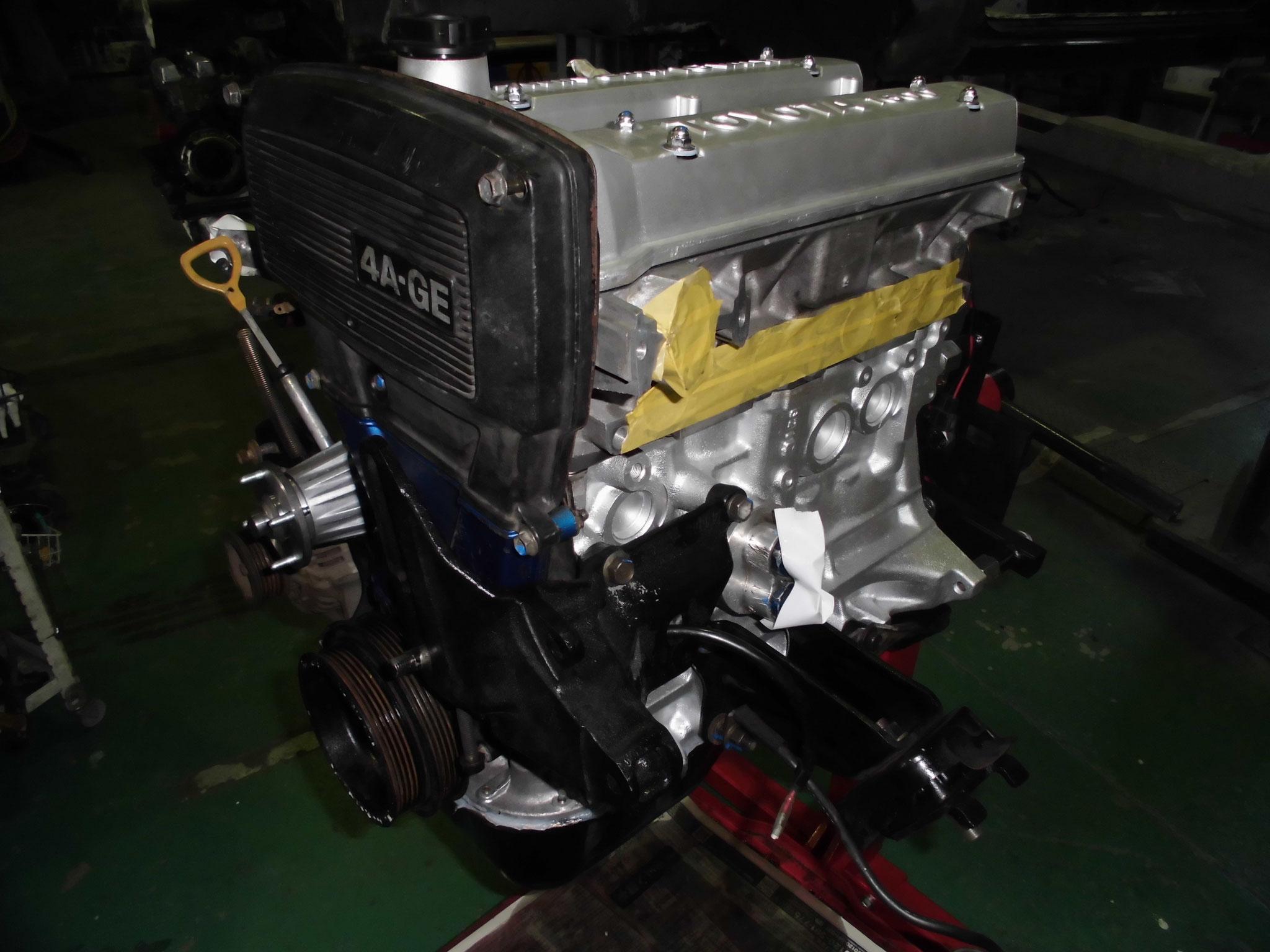 4AG エンジンオーバーホール