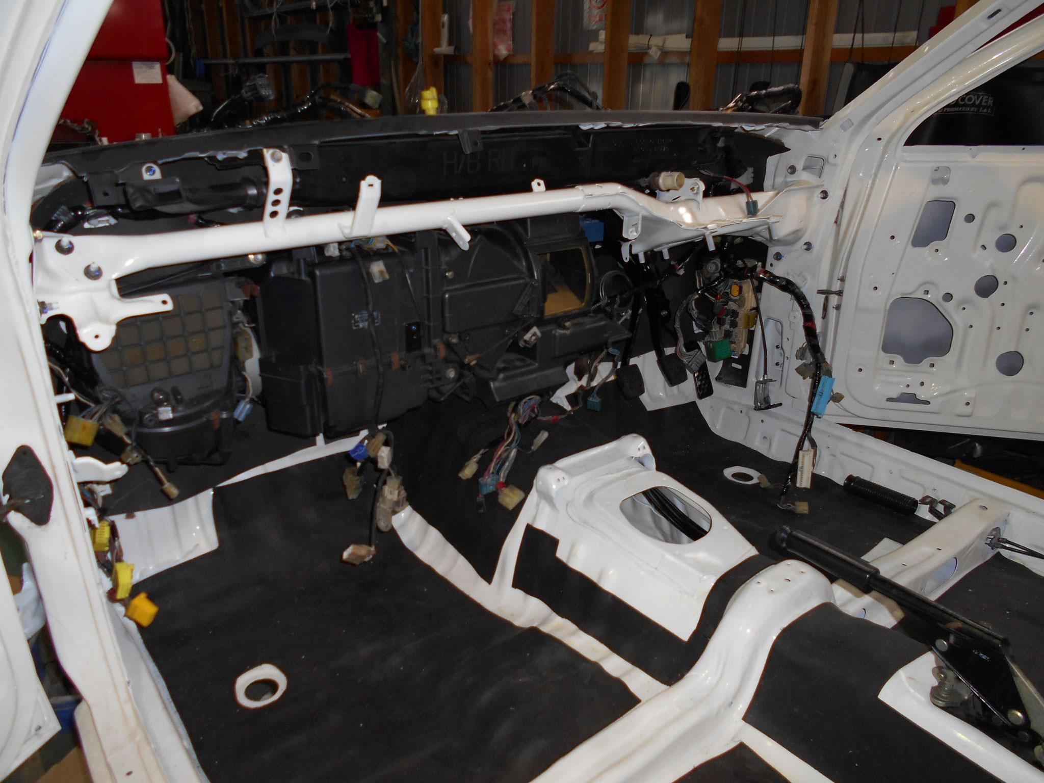 AE86 3Dトレノ レストア