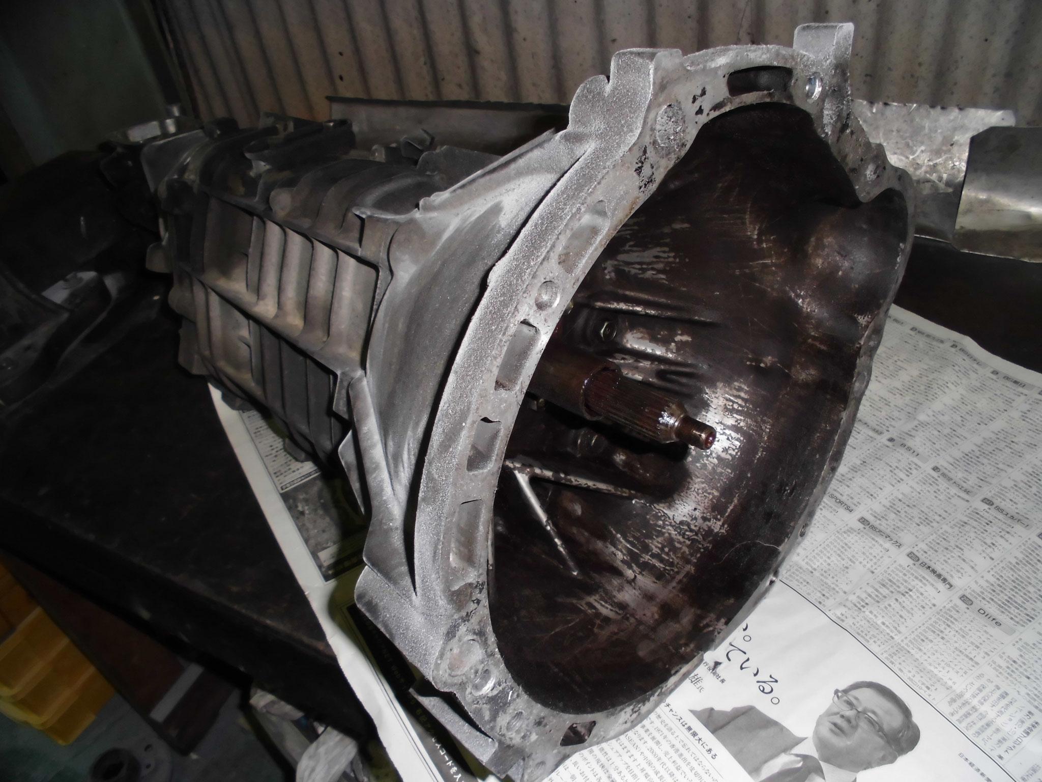 AE86 T50 ミッション