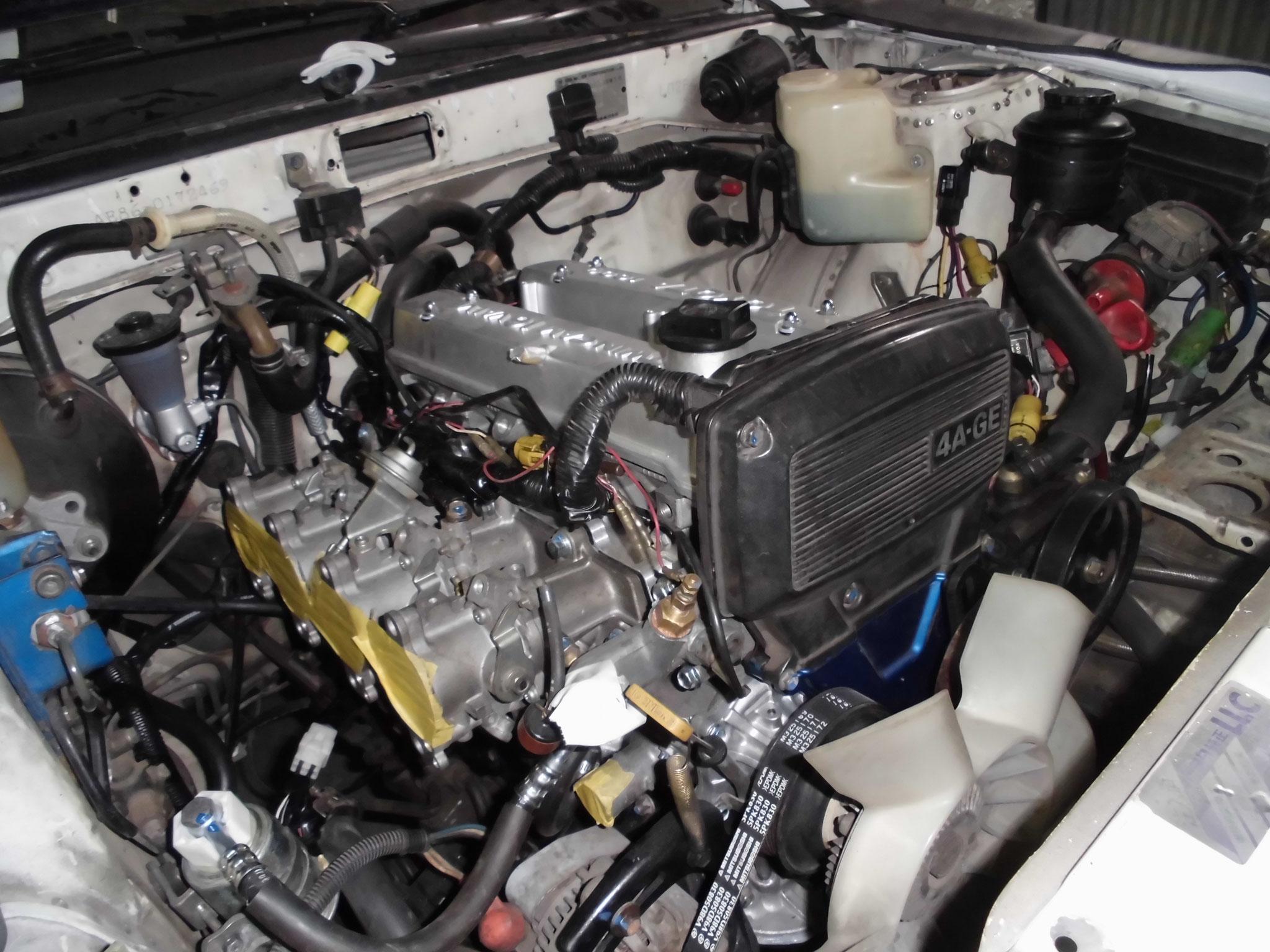 AE86 4スロ