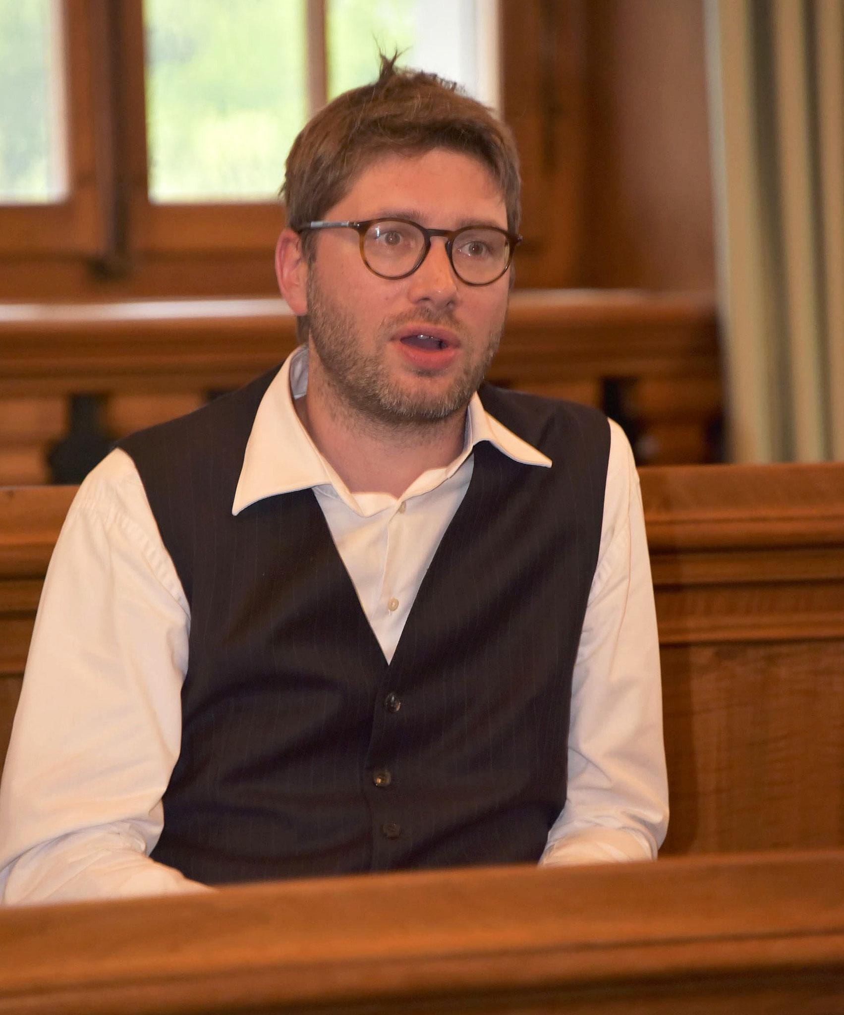 Unser neues Vorstandsmitglied Sven Gallinelli.