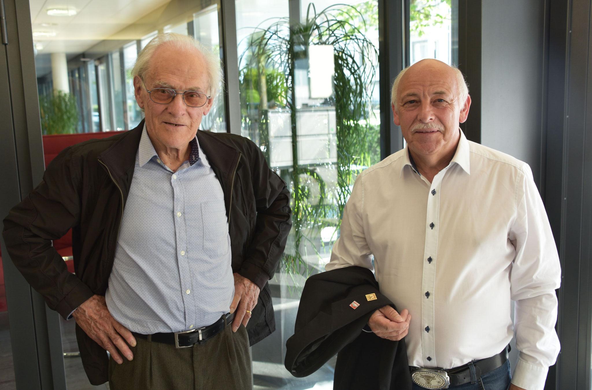 Franz Trachsel und Alois Furrer.