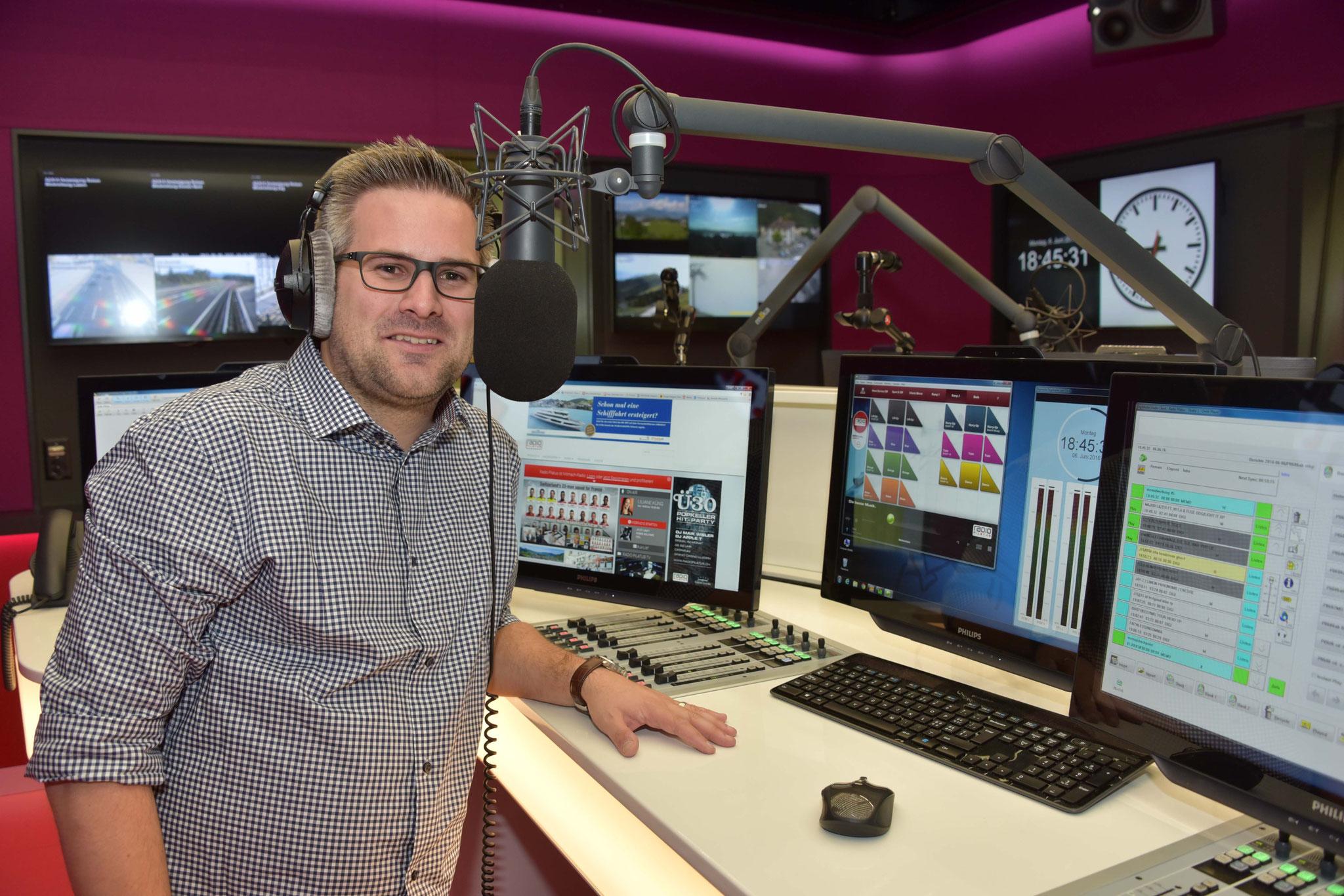 Roman Unternährer, Leiter Moderation Radio Pilatus.