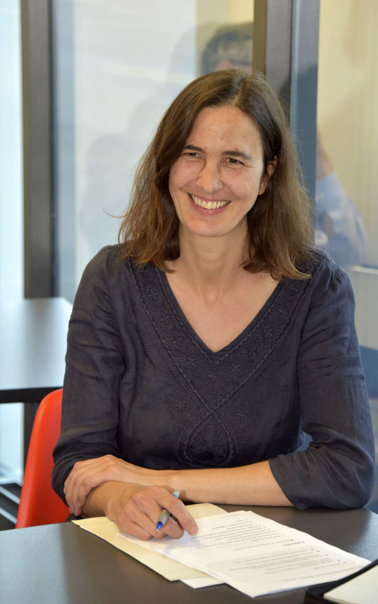 Monika Hame Buholzer, Sekretärin ZVM.