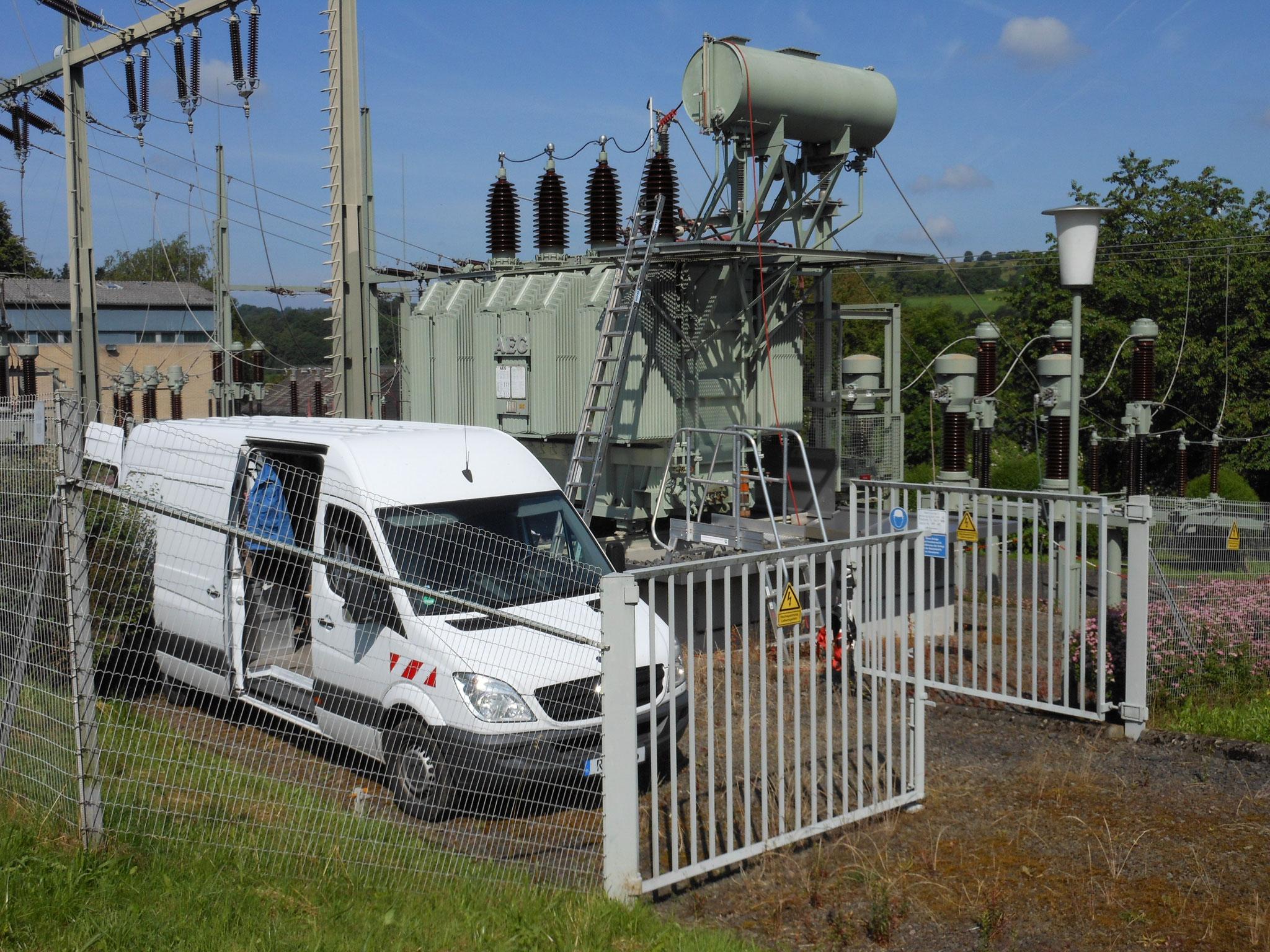 Alterungsdiagnose am 110 kV-Netztransformator (20/24 MVA) von 1969