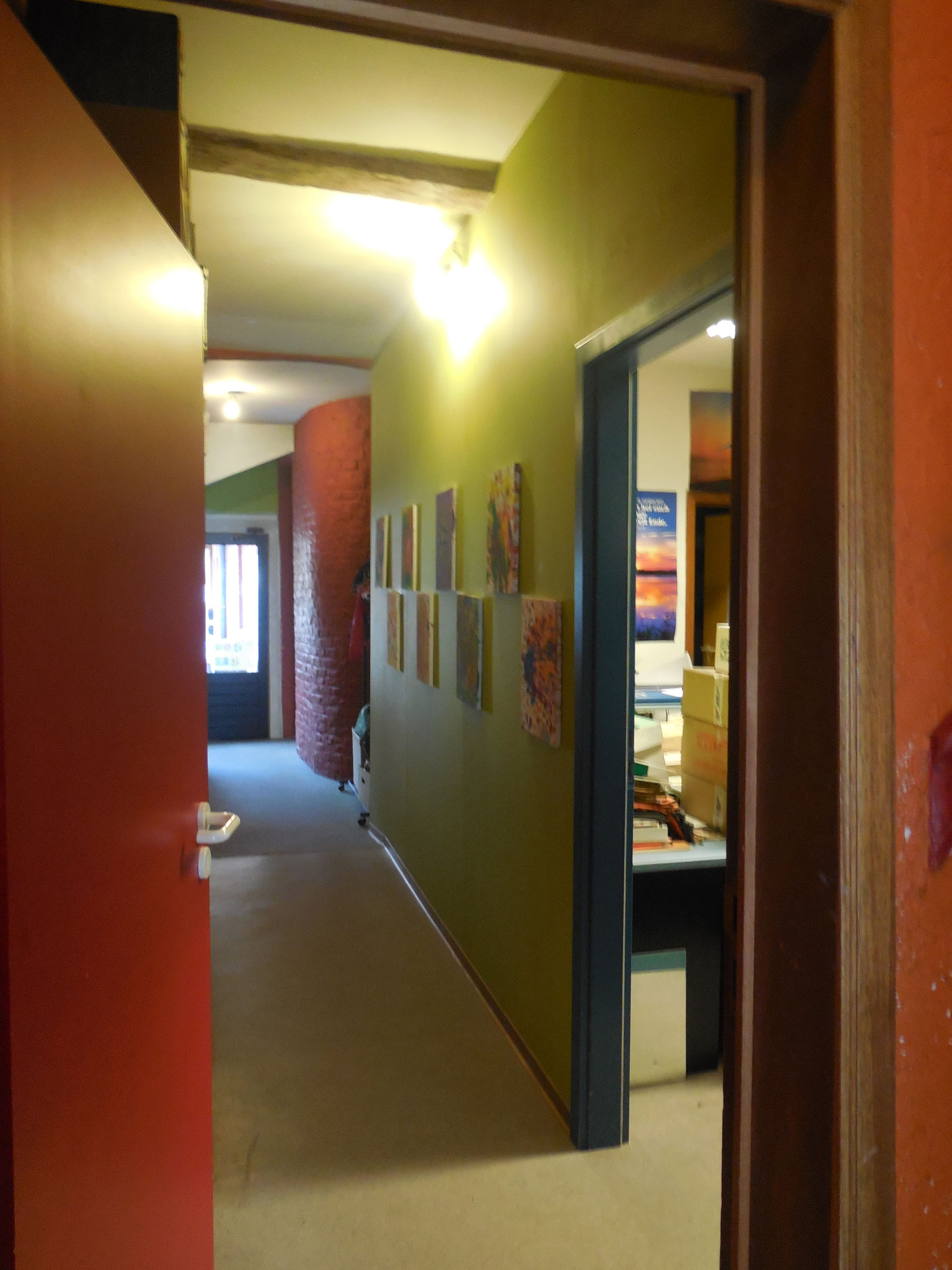 Eingangsbereich Aufgabenschule