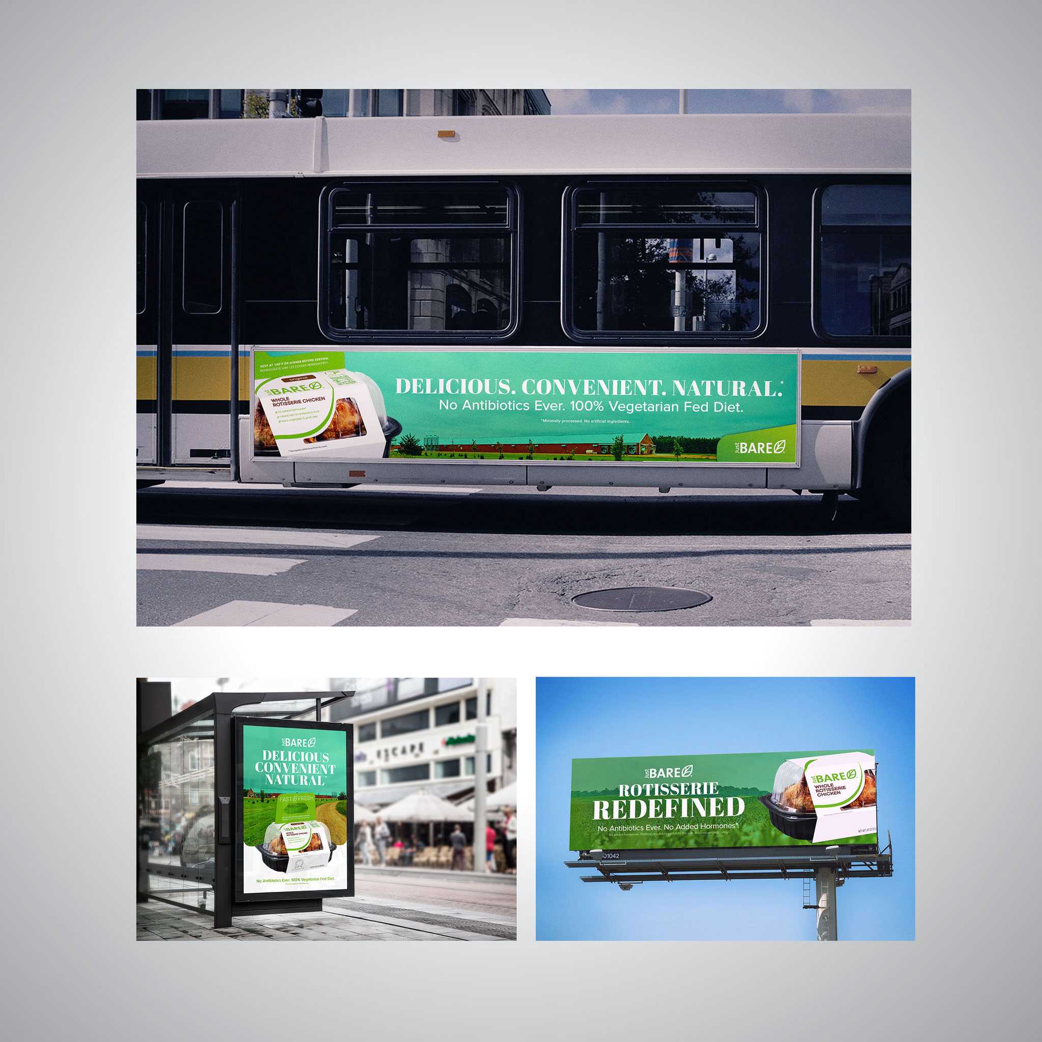 Creative Direction for Product Campaign - OOH Content