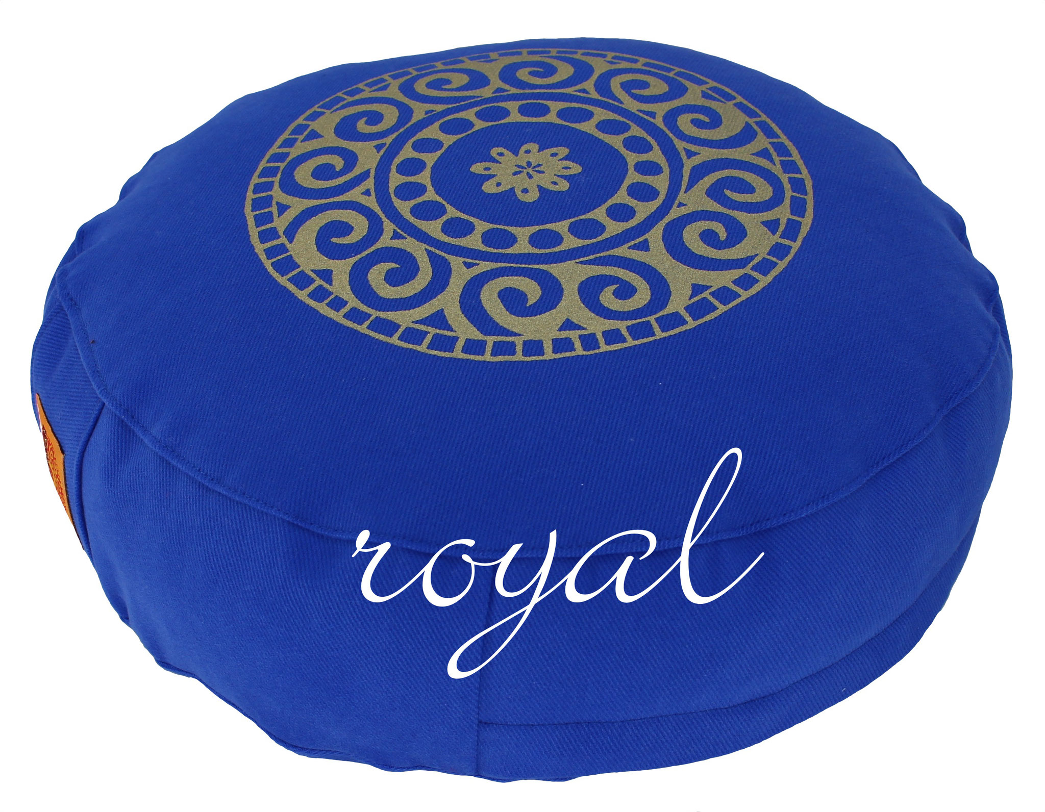 Designer Meditationskissen Yogakissen royal