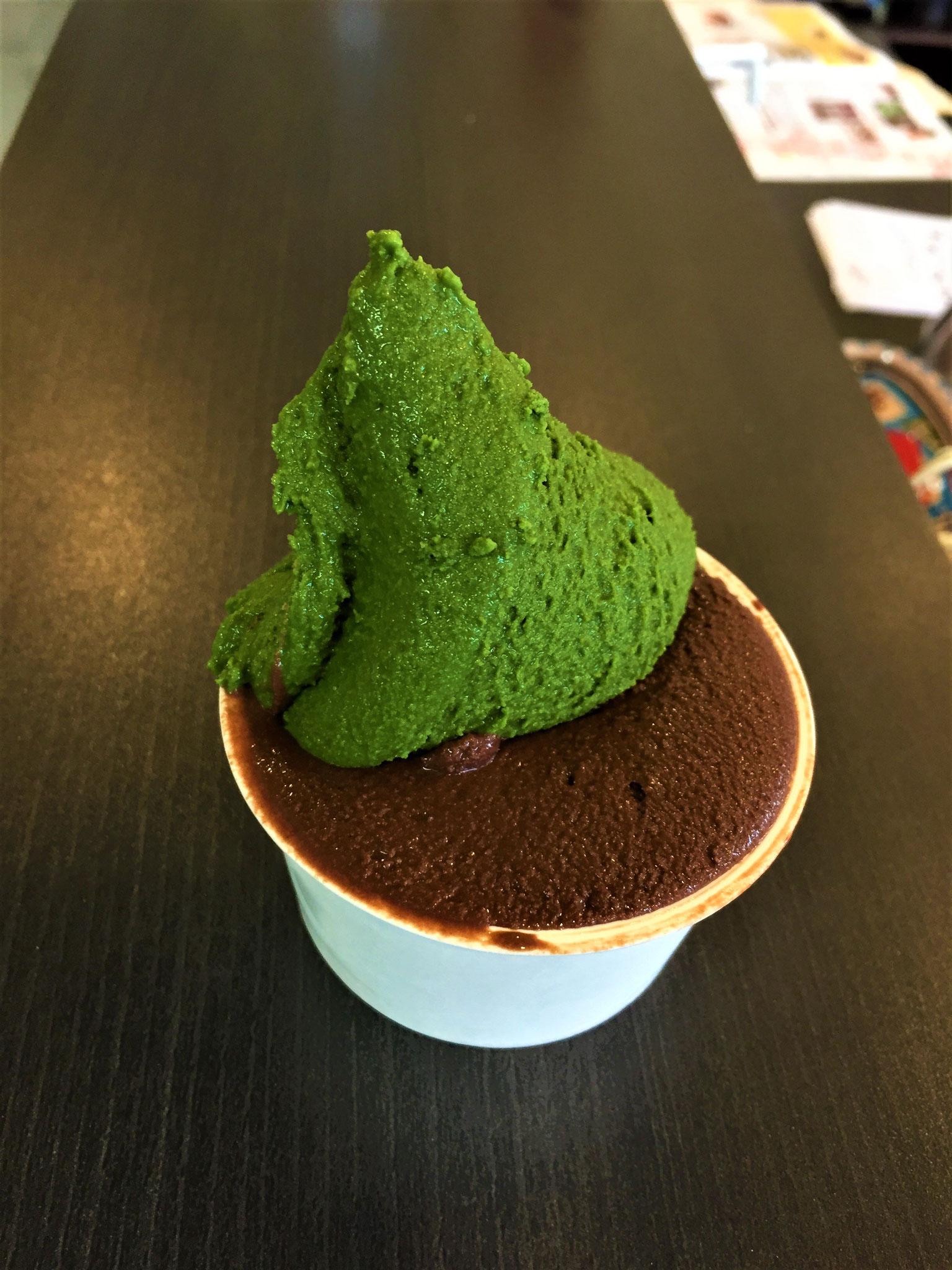 抹茶×ビターチョコレート