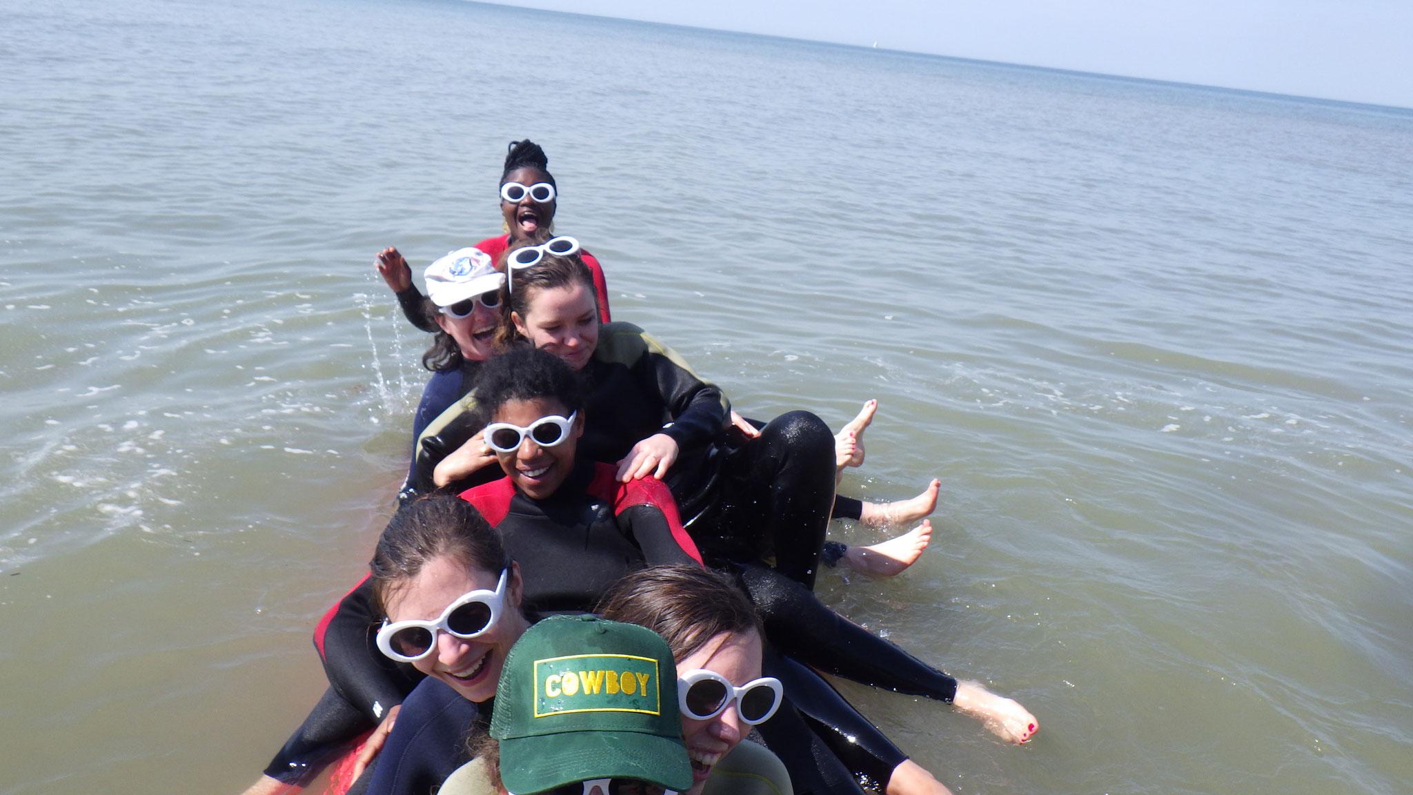 Selphy à 10 sur le kayak !!!