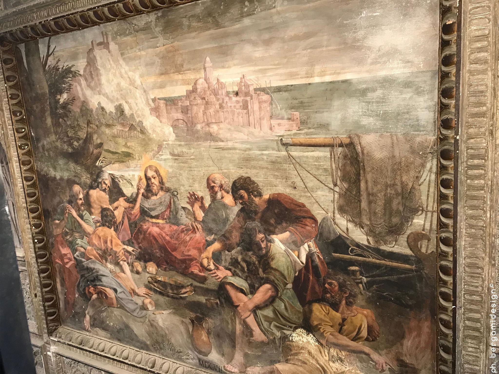La Pesca Miracolosa, Lionello Spada (1607)