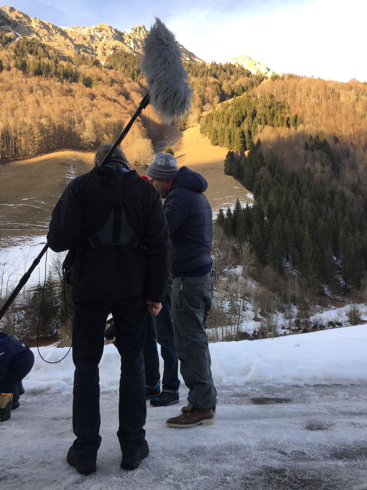 SRF Unser Dorf, Jaun, Filmteam
