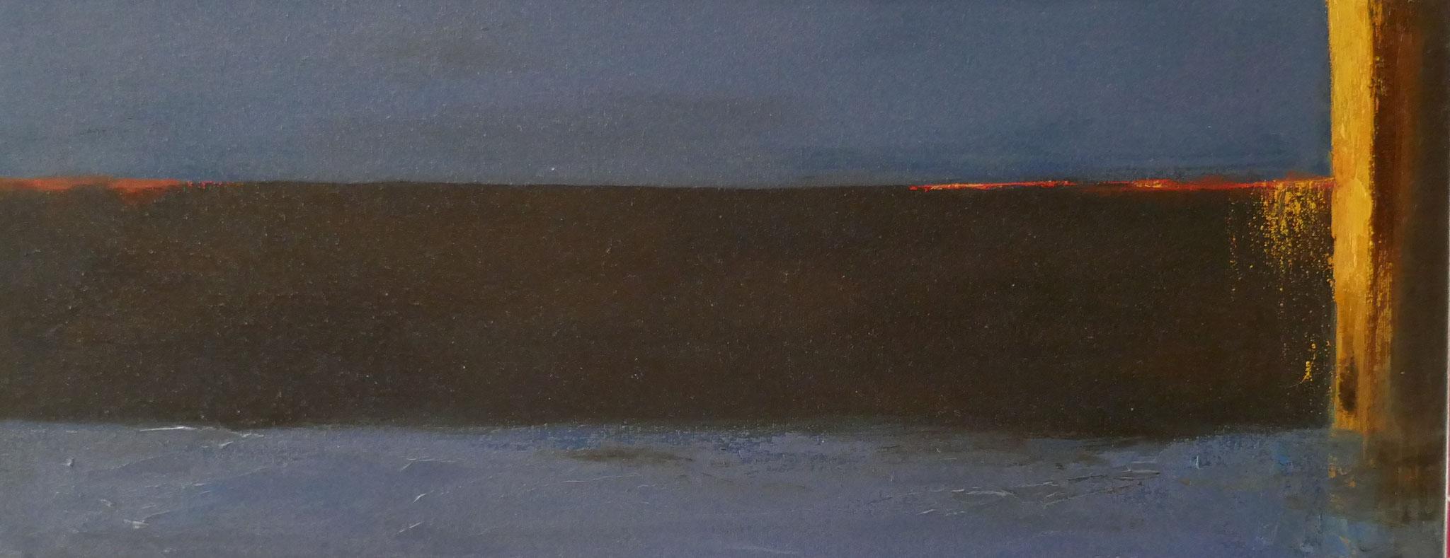 N°14 : 20 X 50 cm : huile sur toile