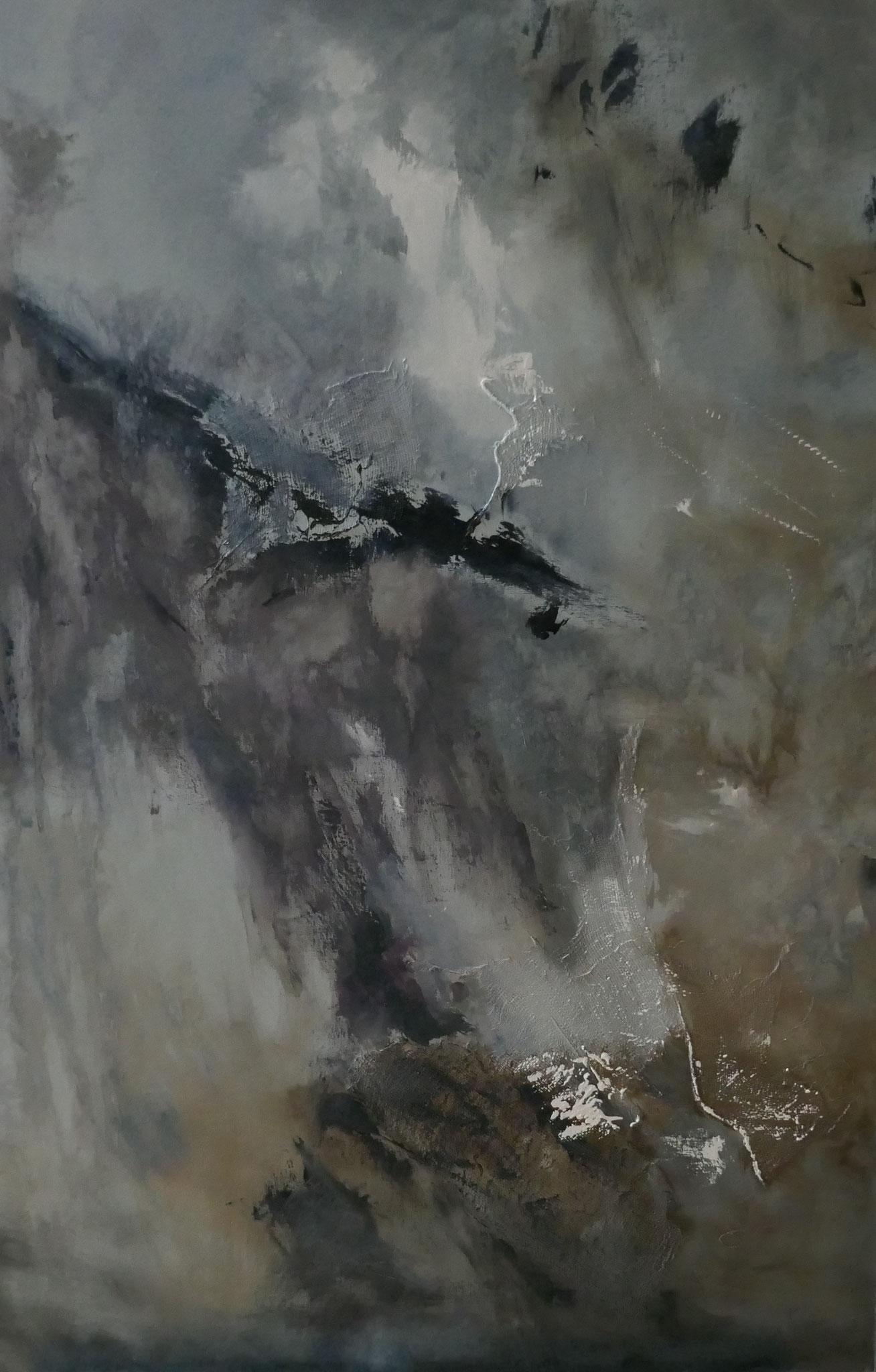 N°4 : 81 X 54 cm : huile sur toile