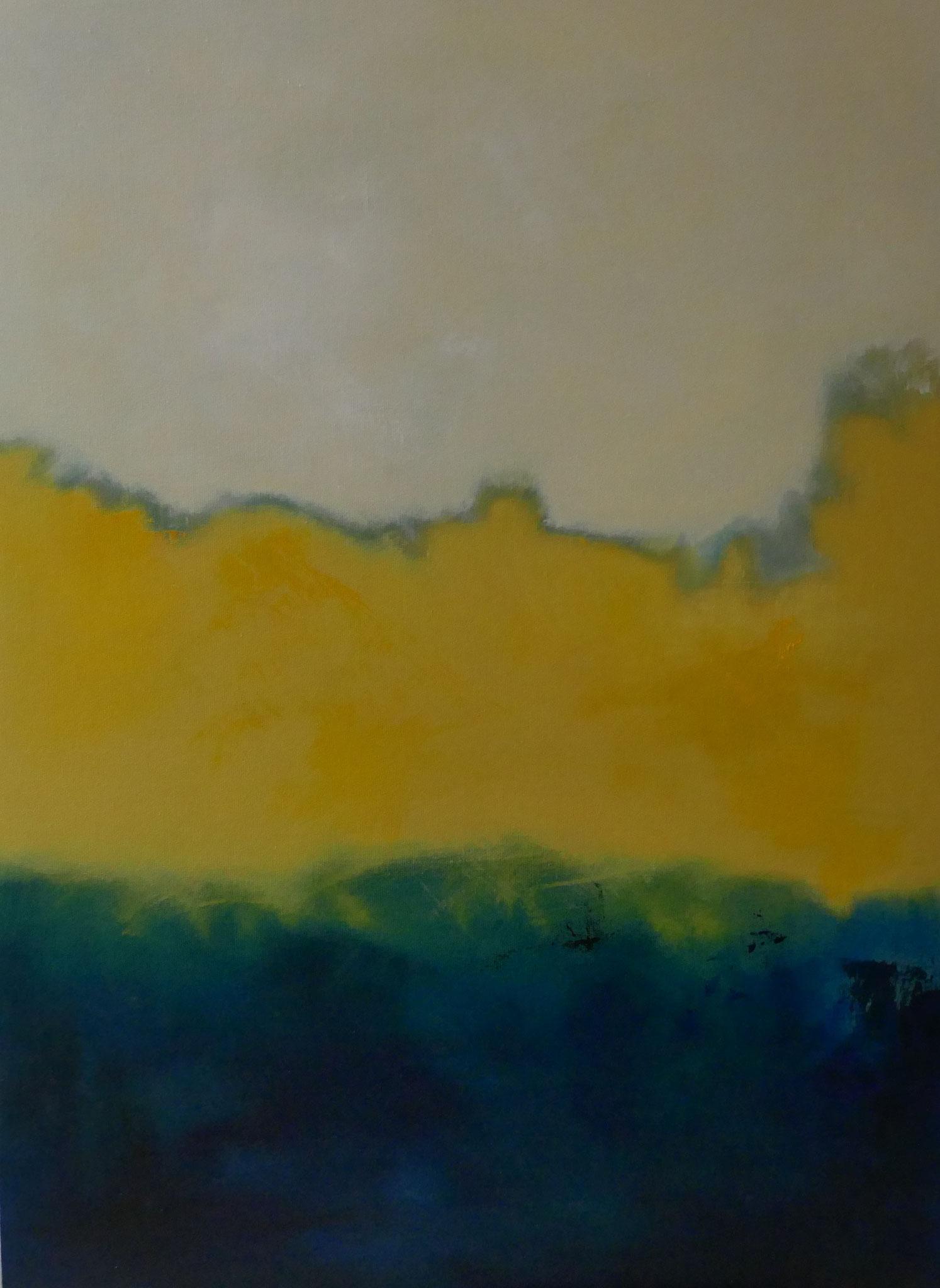 N°2 : 100 X 73 cm : huile sur toile