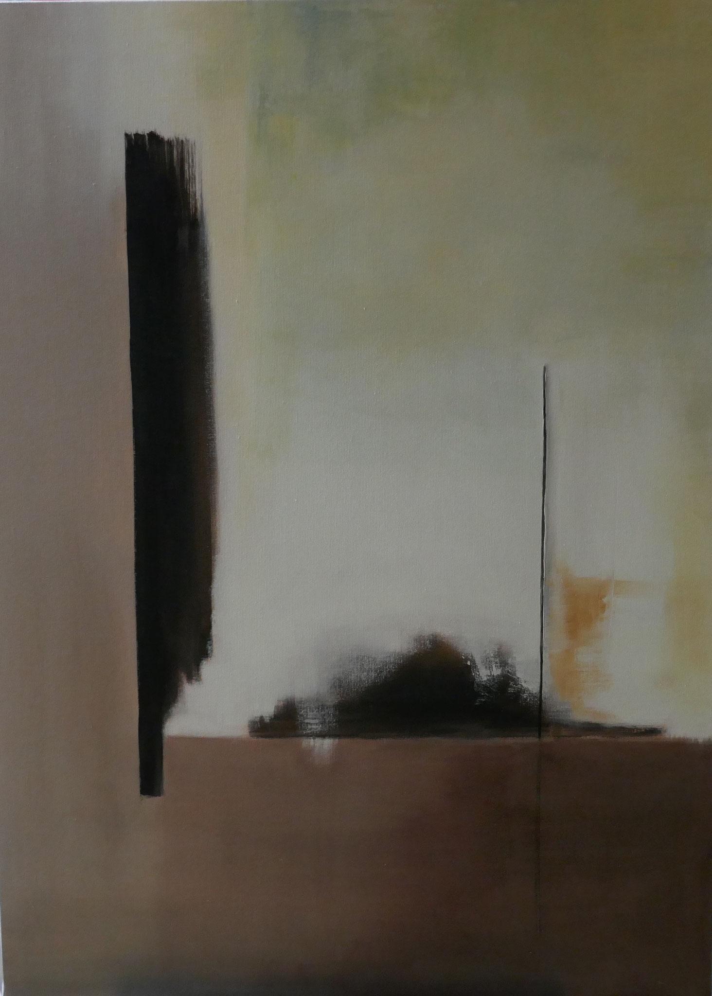 N°3 : 100 X 73 cm : huile sur toile