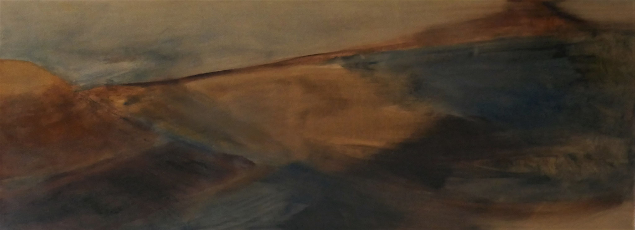 N°21 : 30 cm X 80 cm : huile sur toile