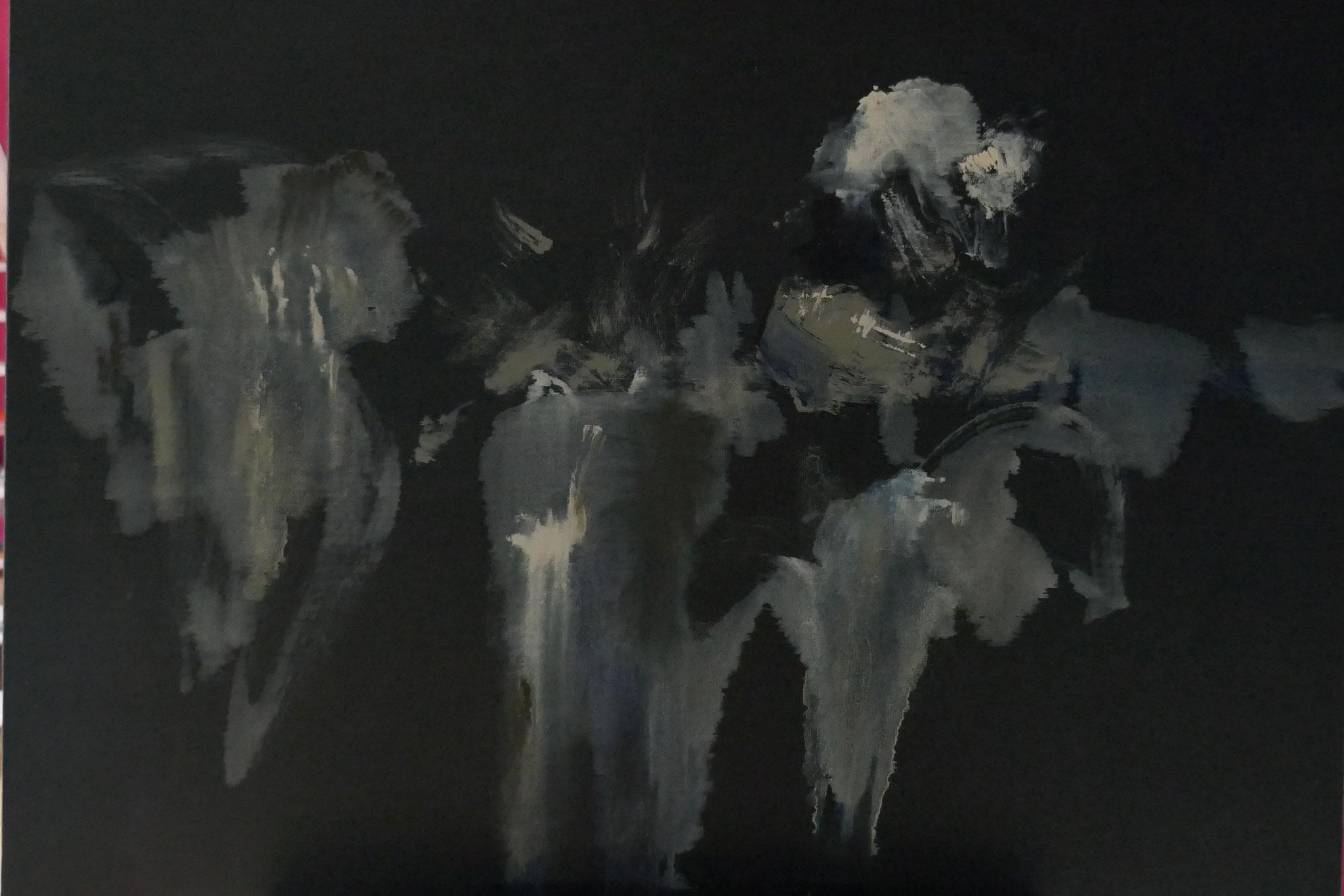 N°6 : 60 X 81 cm : huile sur toile