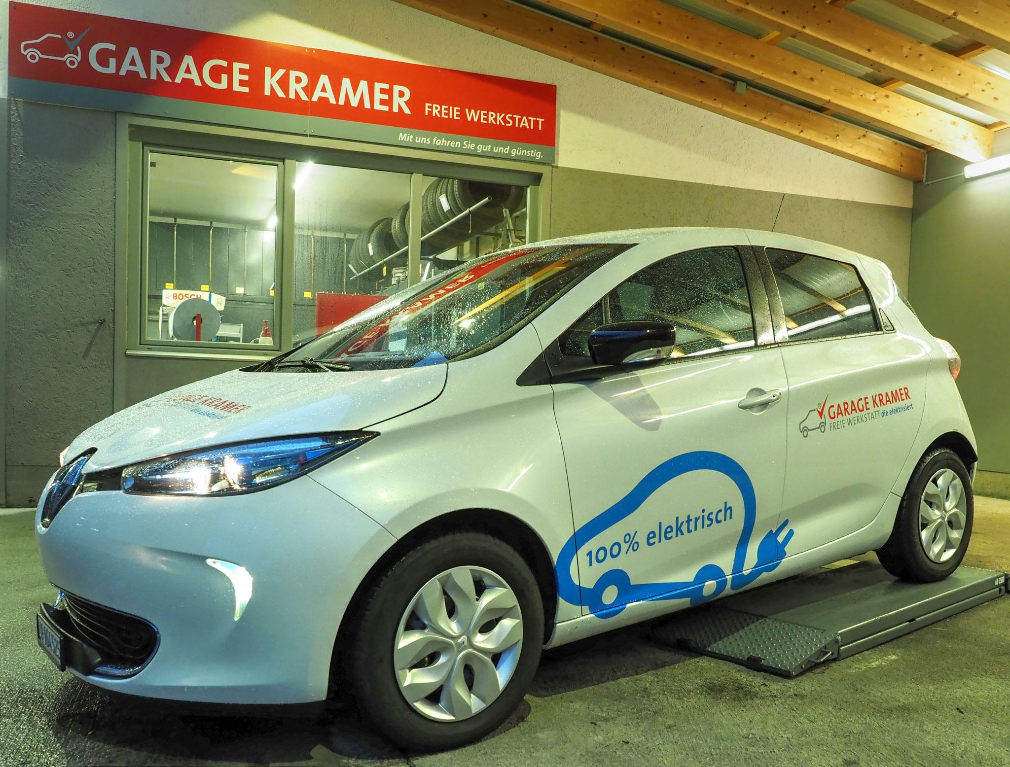 Renault Zoe (100% elektrisch)