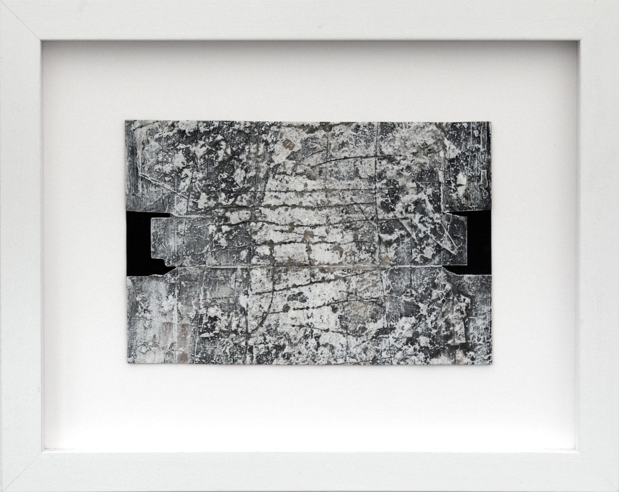 Enter-Exist-Exit 32 x 22 cm Mixed media (53 x 43 cm framed)