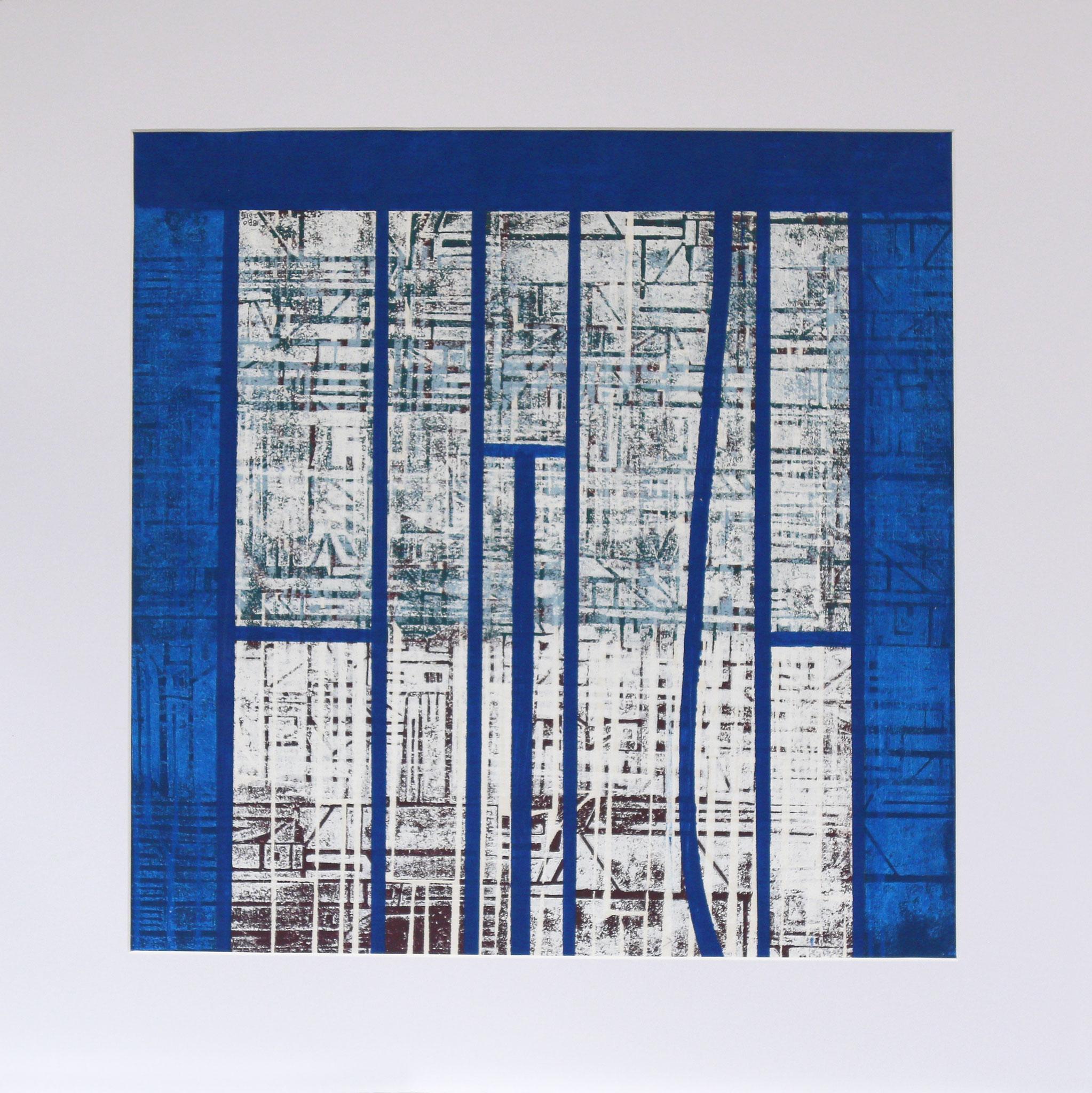 Untitled 53 x 53 cm Mixed media (71 x 71 cm mounted)