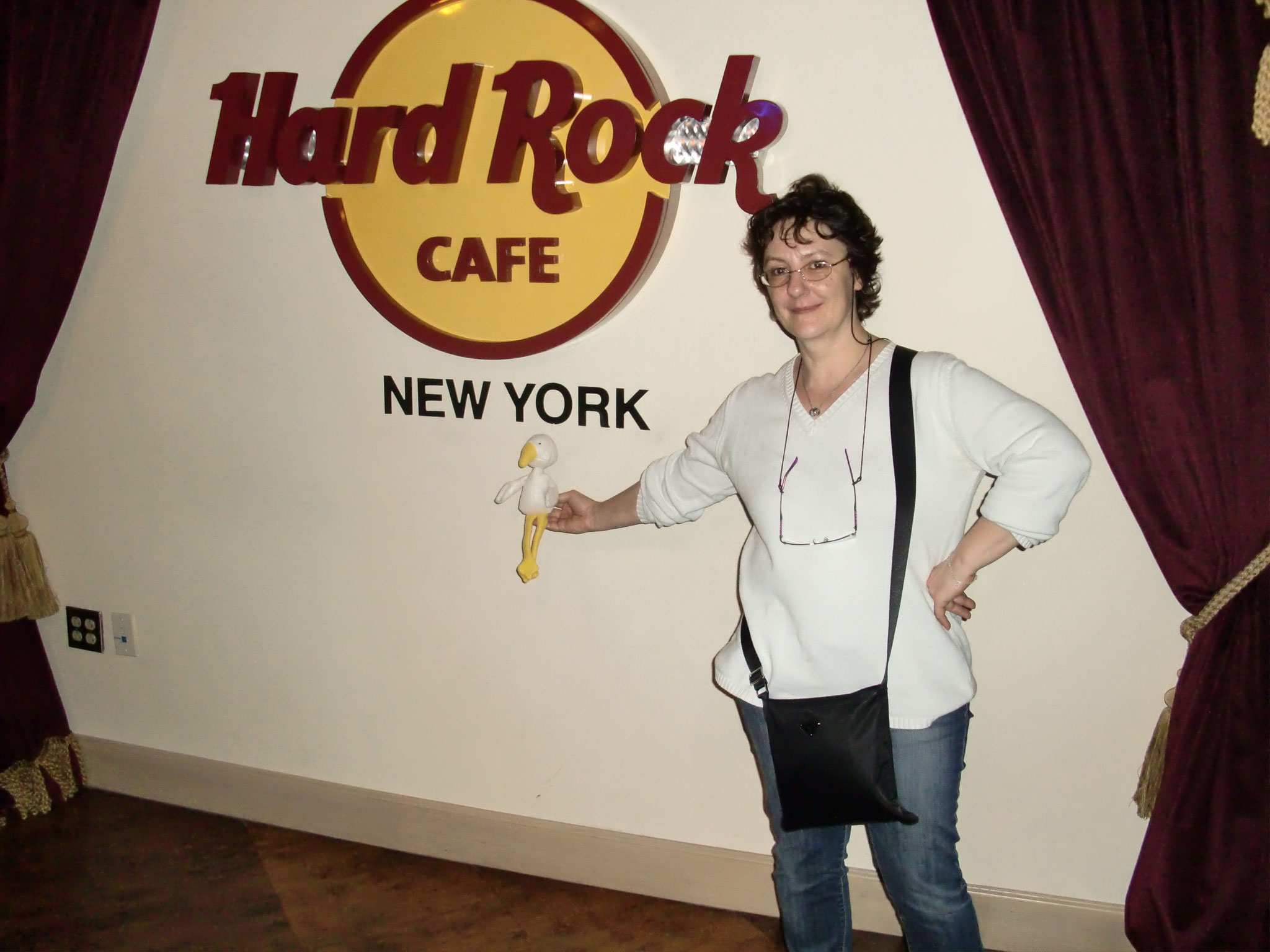 Hard Rock cafe Time Square 2011