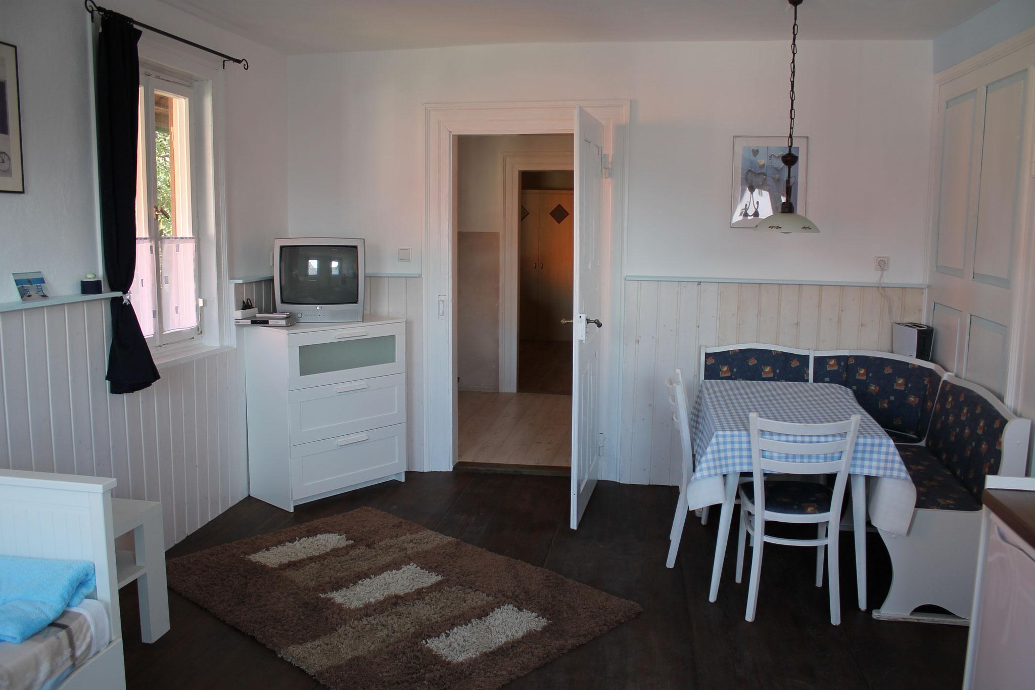 TV- und Essecke Küche
