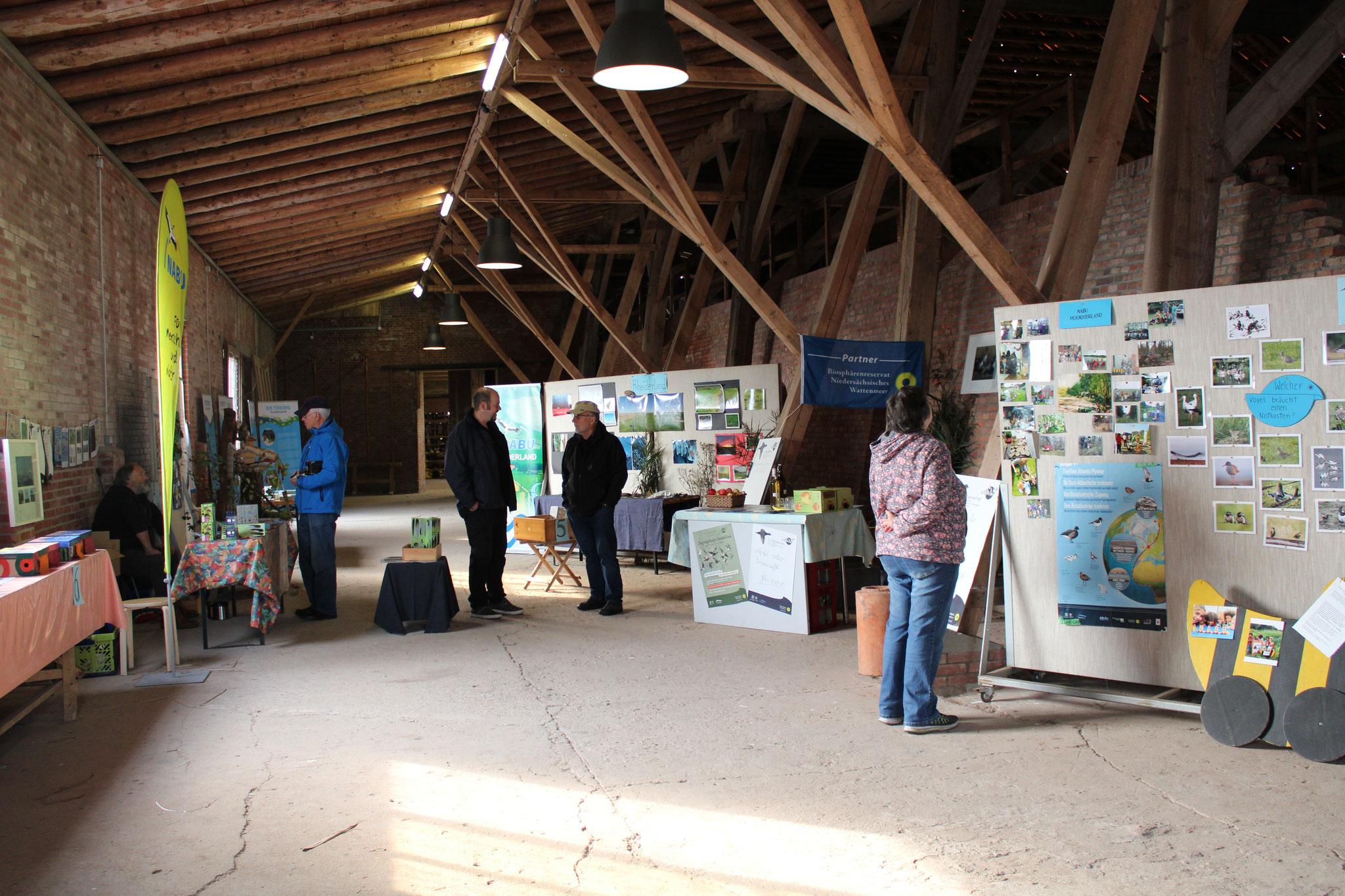 Das Ziegeleimuseum bietetden passenden Rahmen für jede Menge Informationen zum Naturschutz