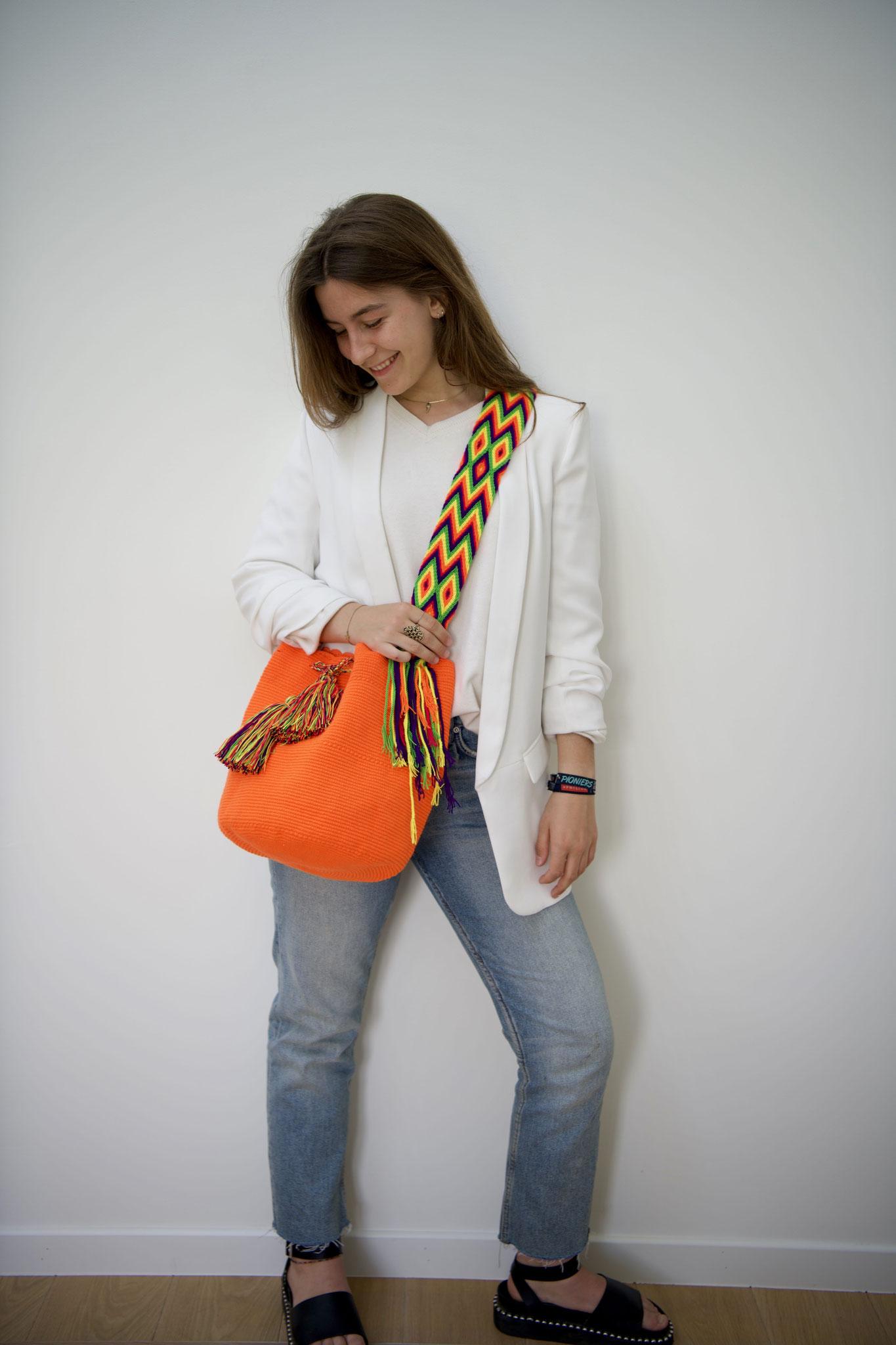 Handcrafted Mochila bags