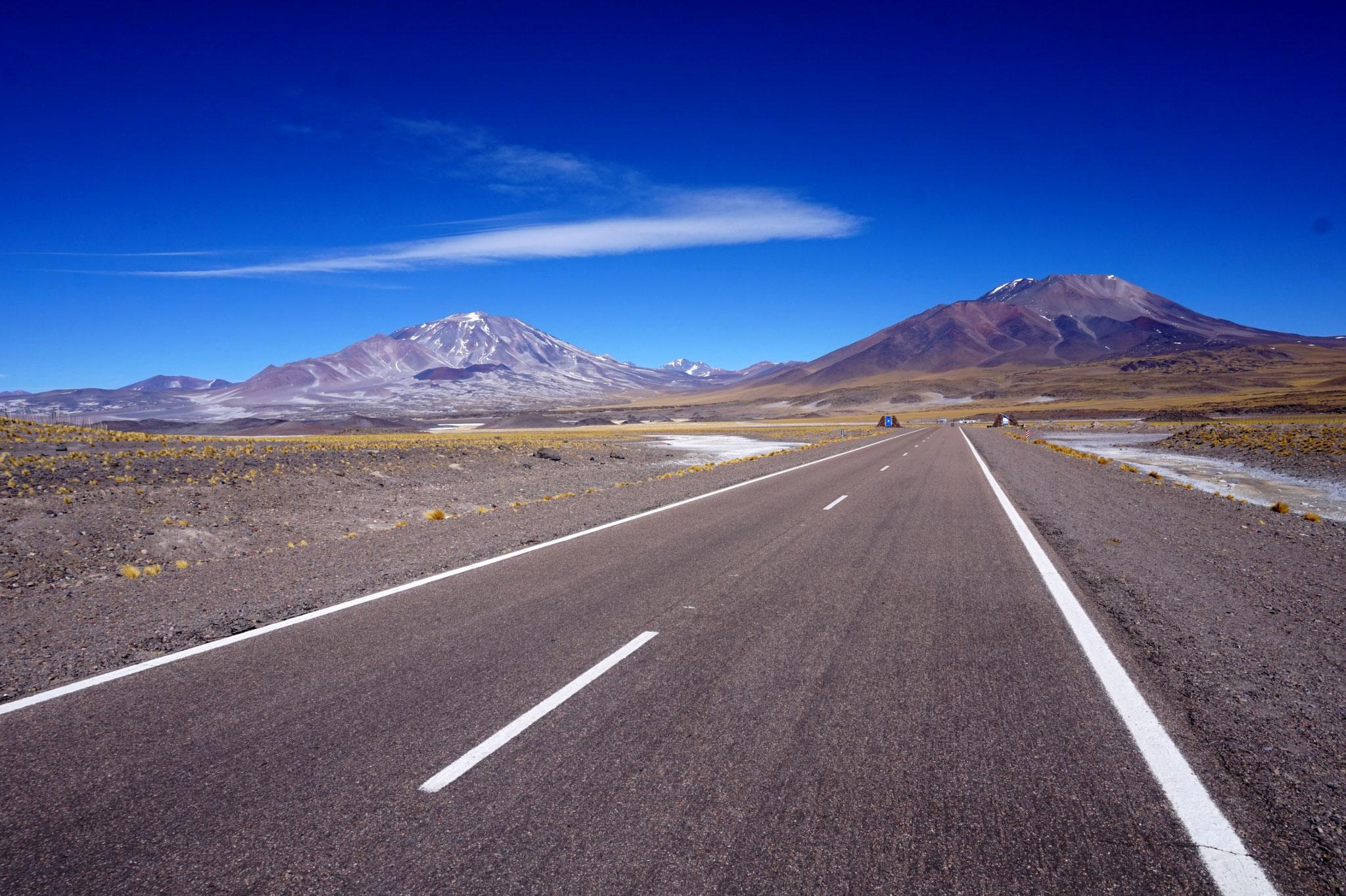Lange Straßen und eine  beeindruckende Atmosphäre