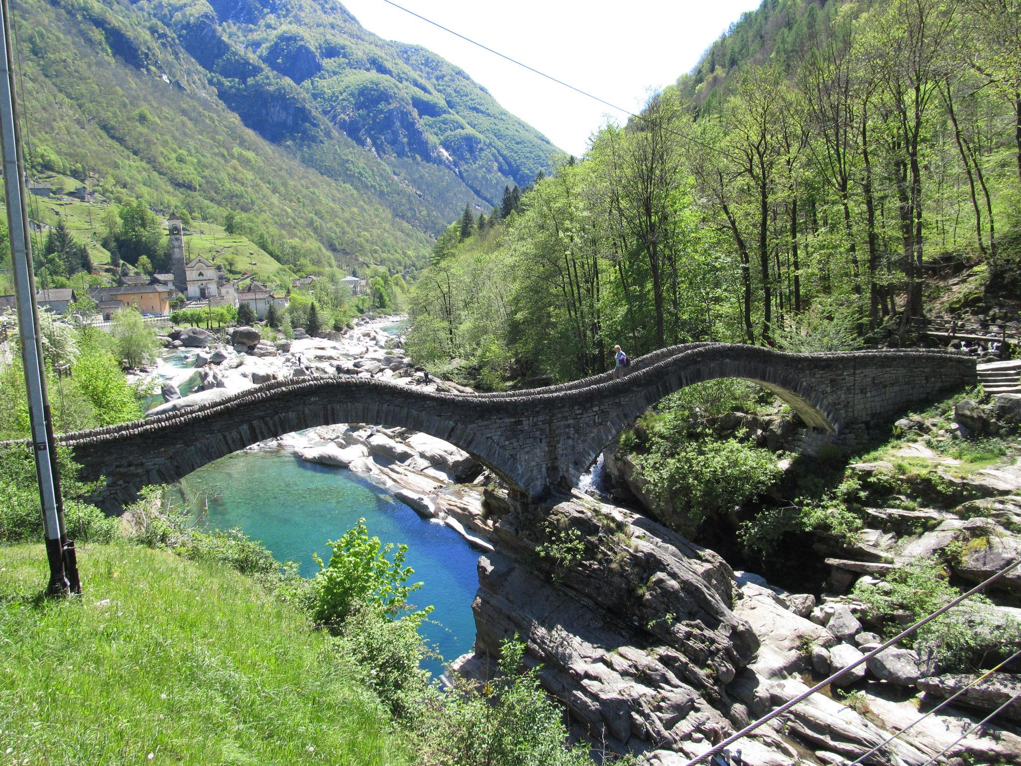 Zweijochige Römerbrücke Lavertezzo