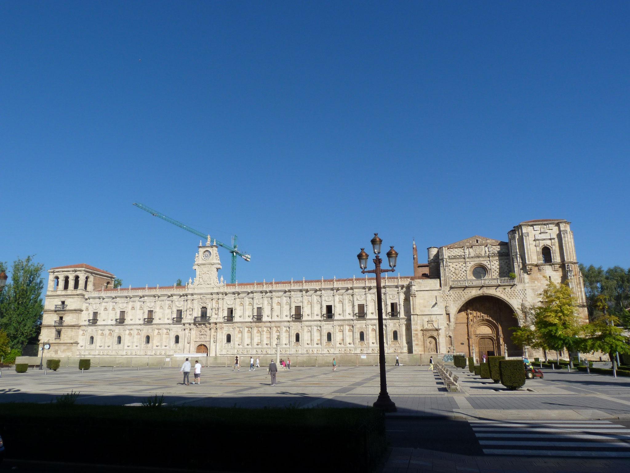 der Palast San Marco, früher Pilgerherberge - heute Luxushotel