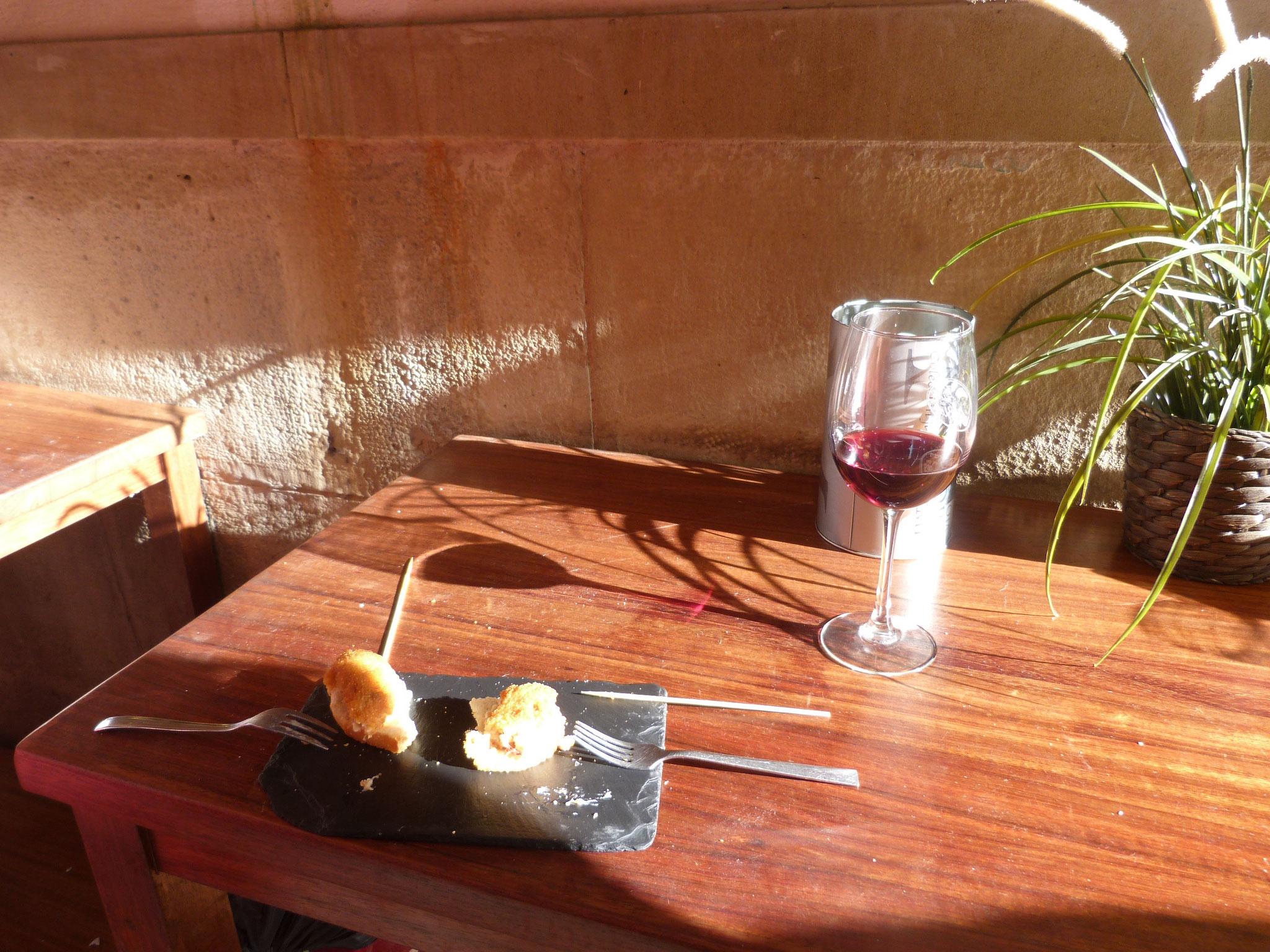 ein gutes Glas Rioja