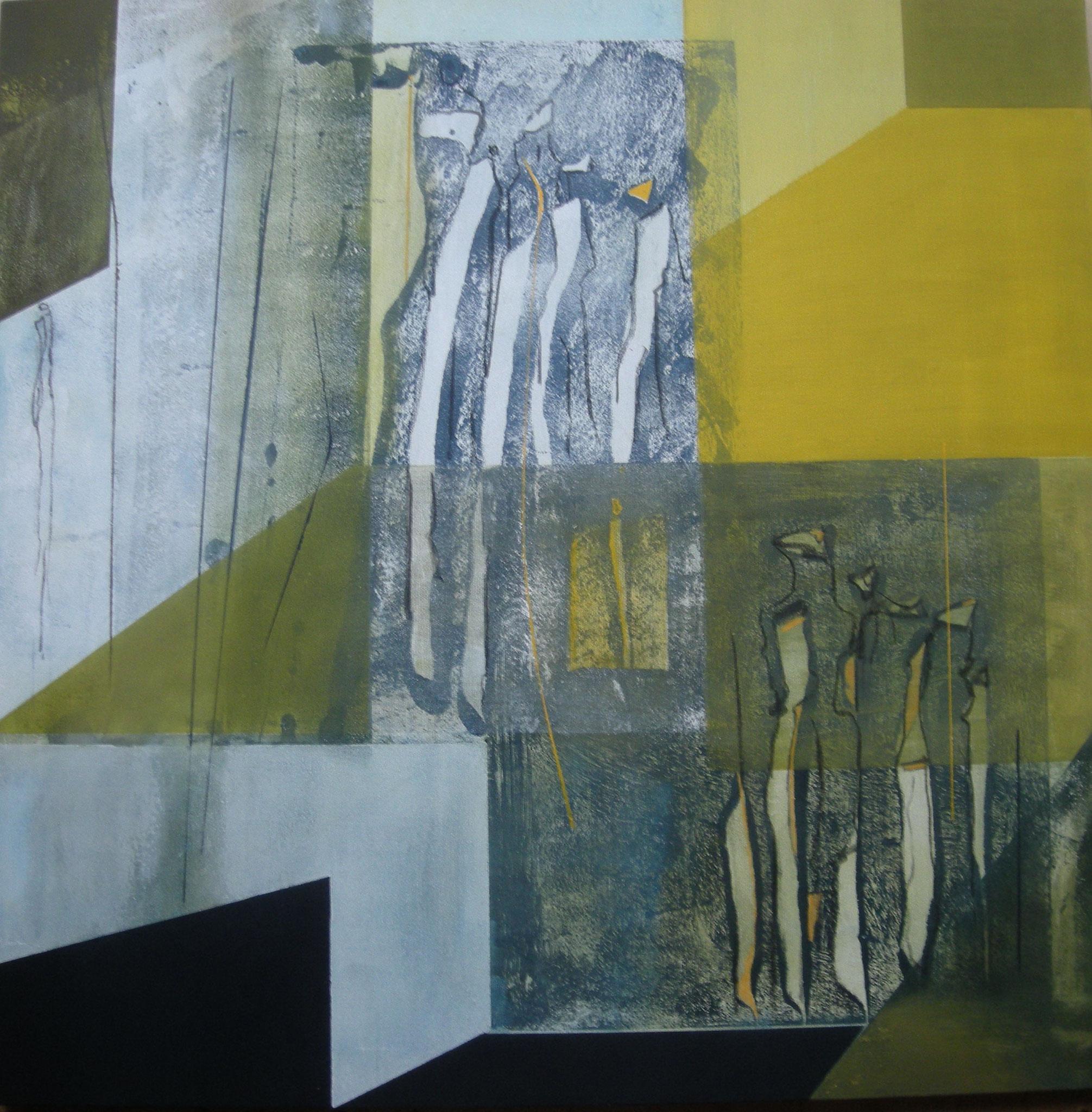"""""""Transparente Räume"""" 80x80cm"""