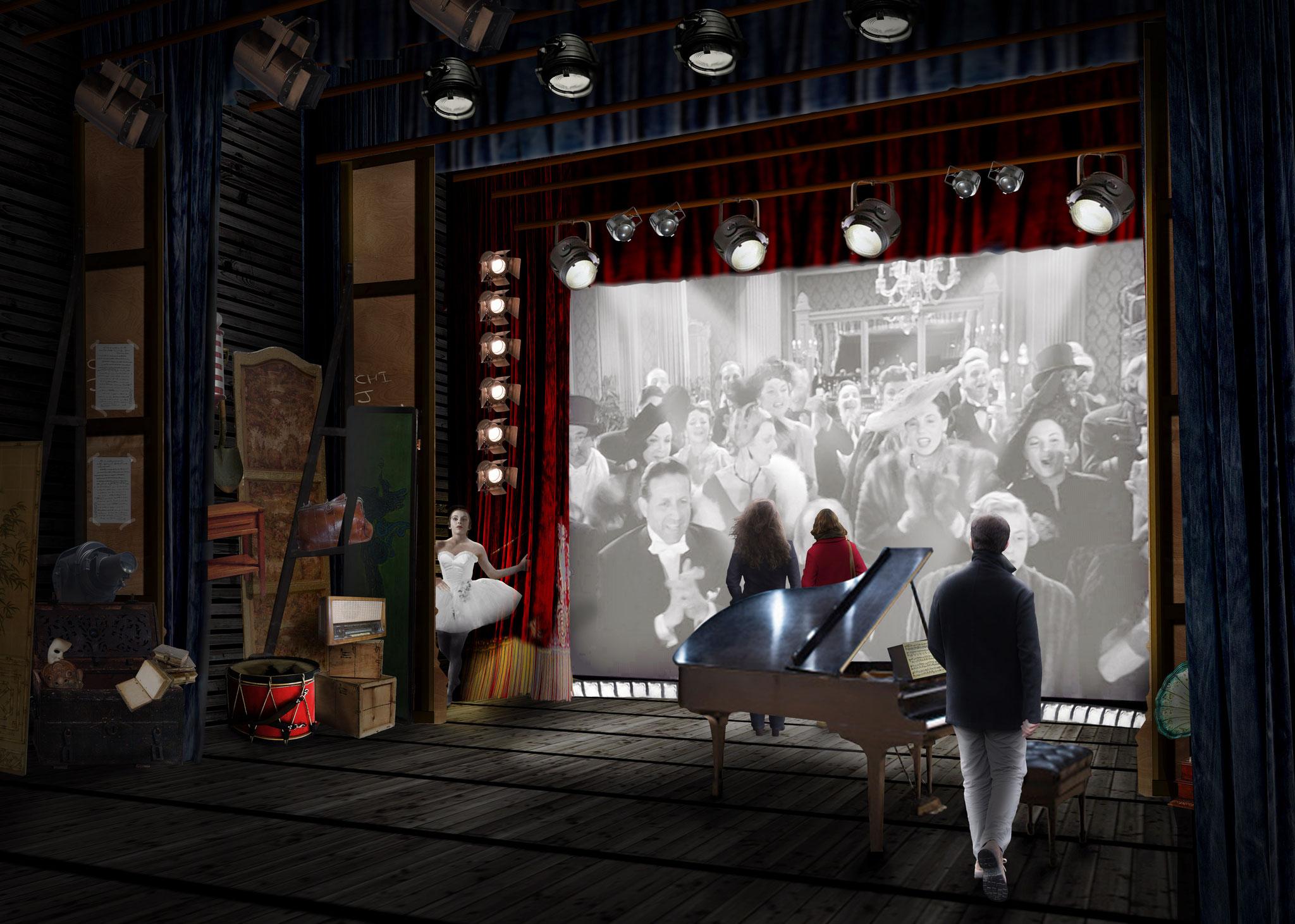 Chaplin's World - Espace théâtre - Agence Confino - 2014