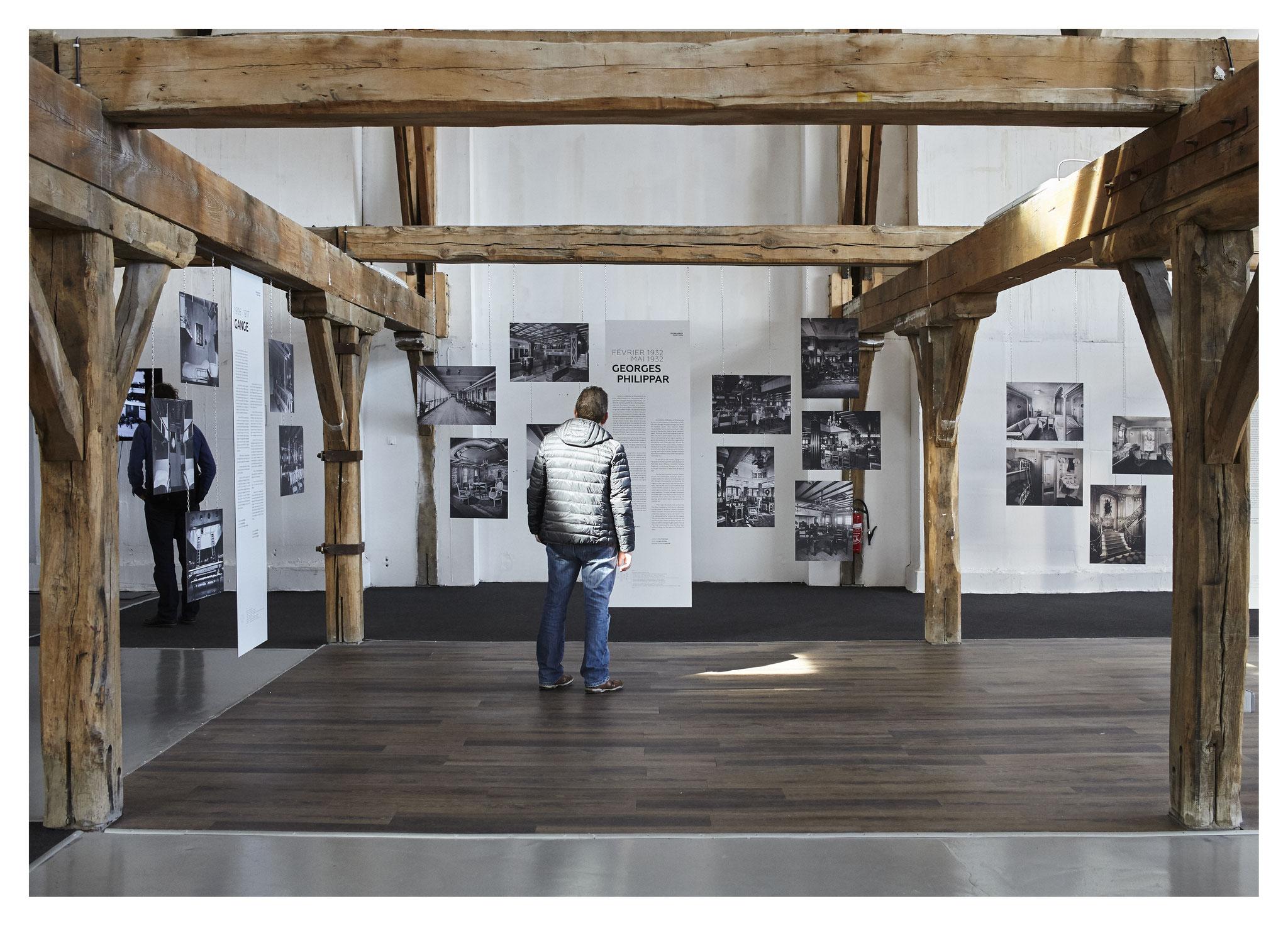 Espace blanc - Exposition de photographies et histoire des paquebots
