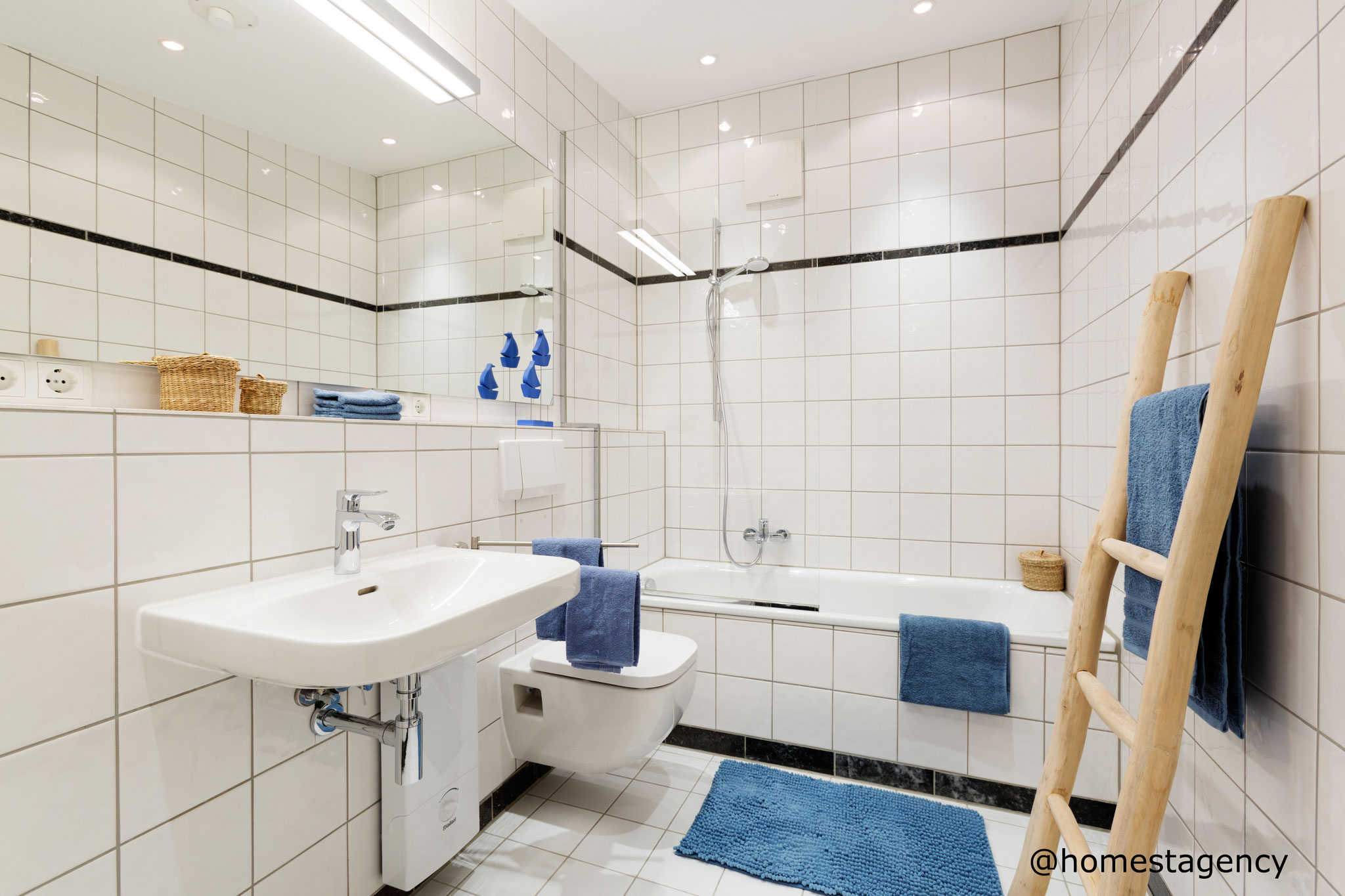 Bad mit Home Staging