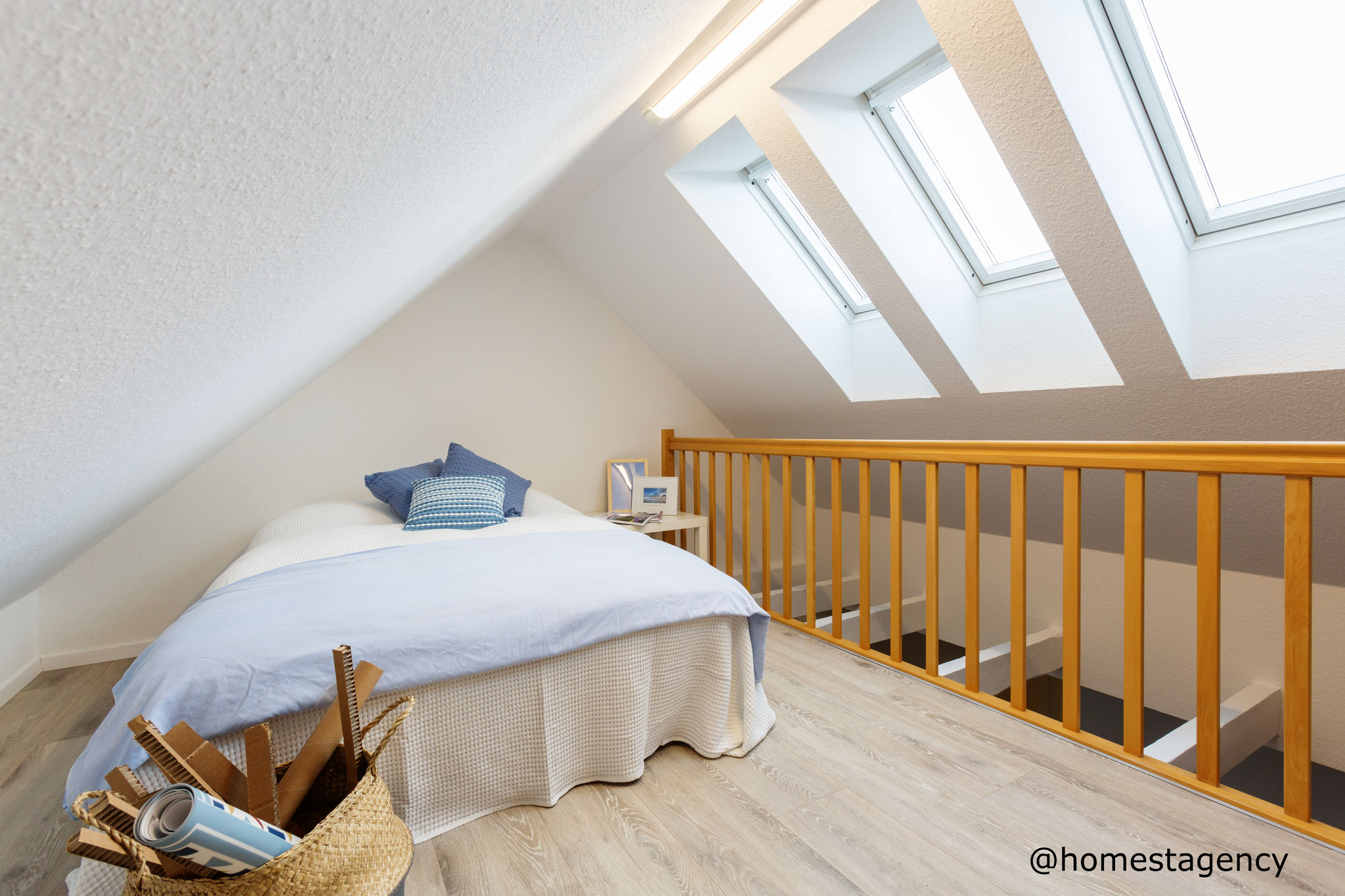 Empore mit Home Staging
