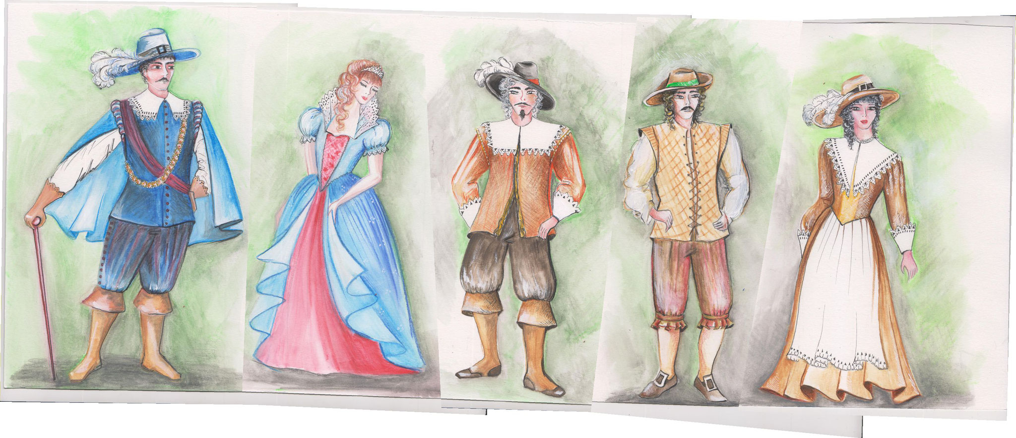 Entwurf Kostüme