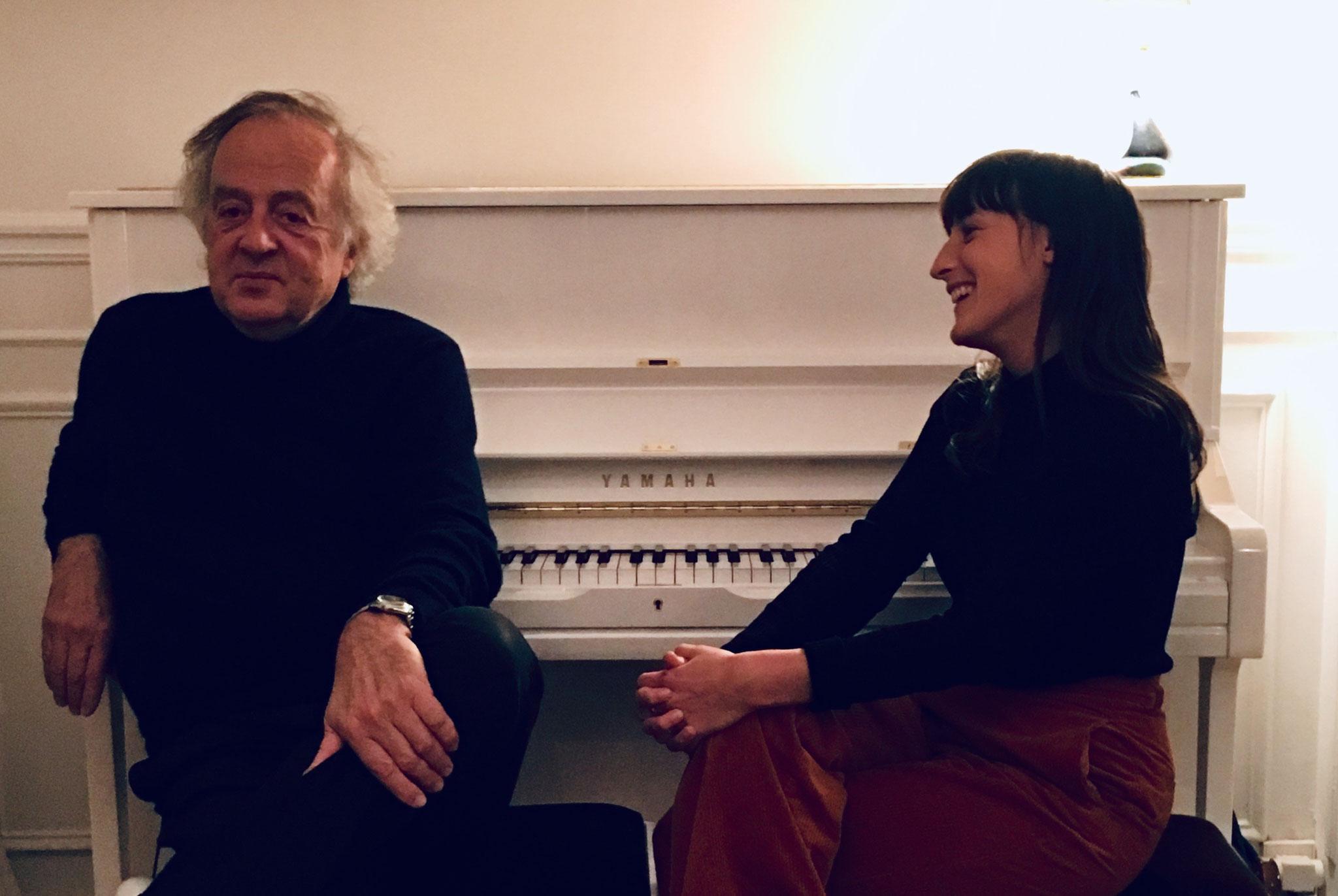 Jean-Pierre et Juliette Armanet