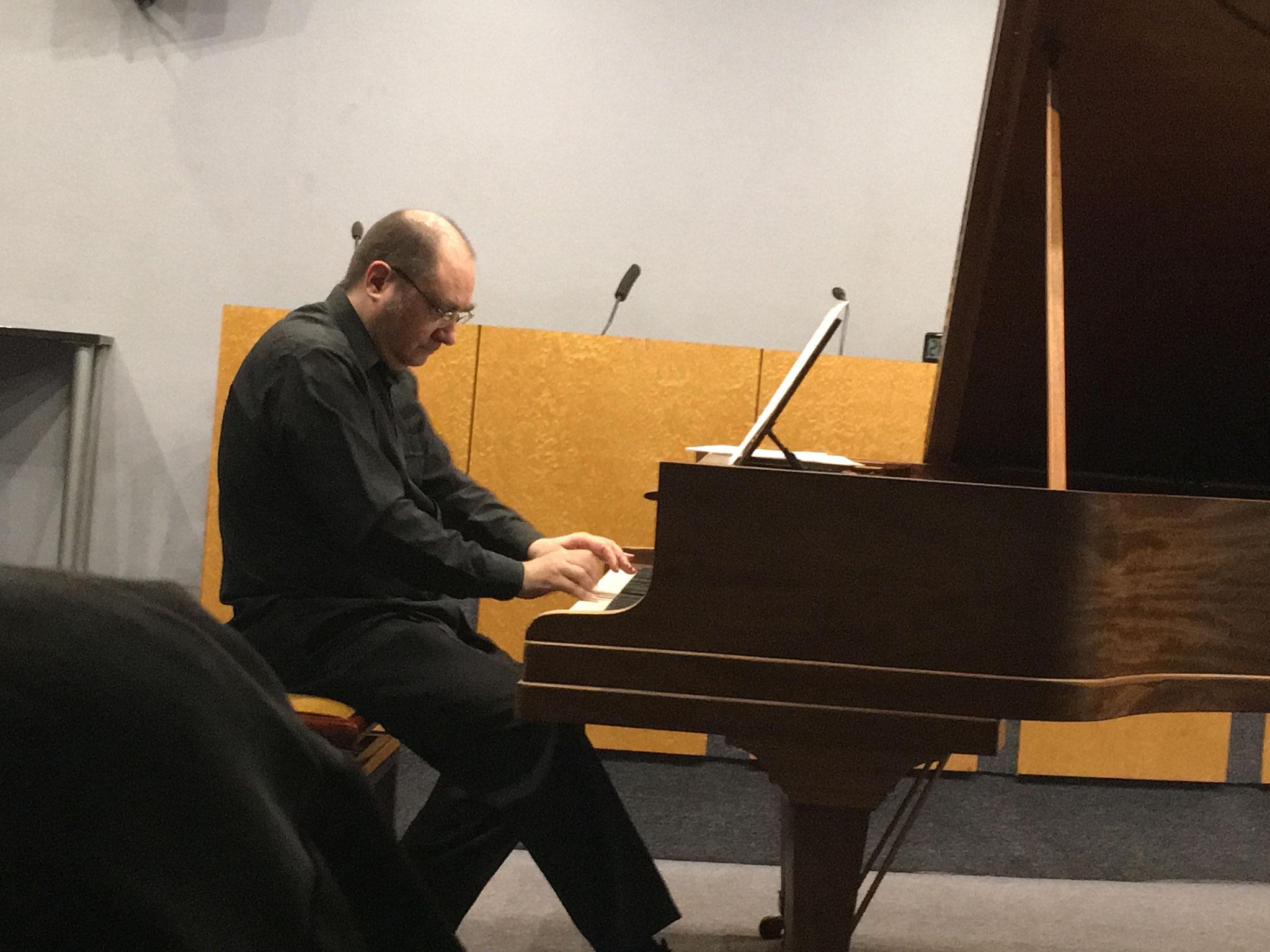 Christophe Frionnet , compositeur (piano)