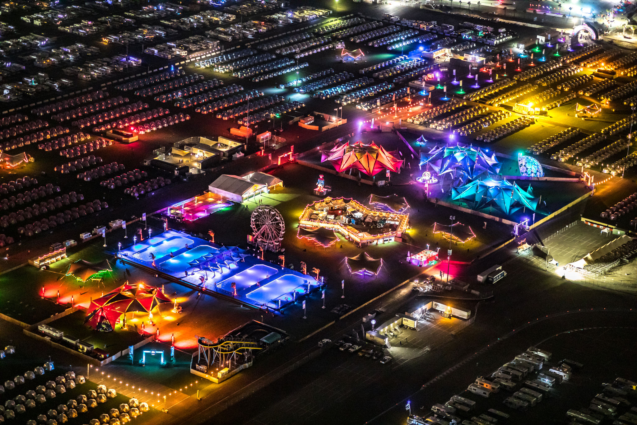 Camp EDC, Las Vegas / Picture: Backbone International