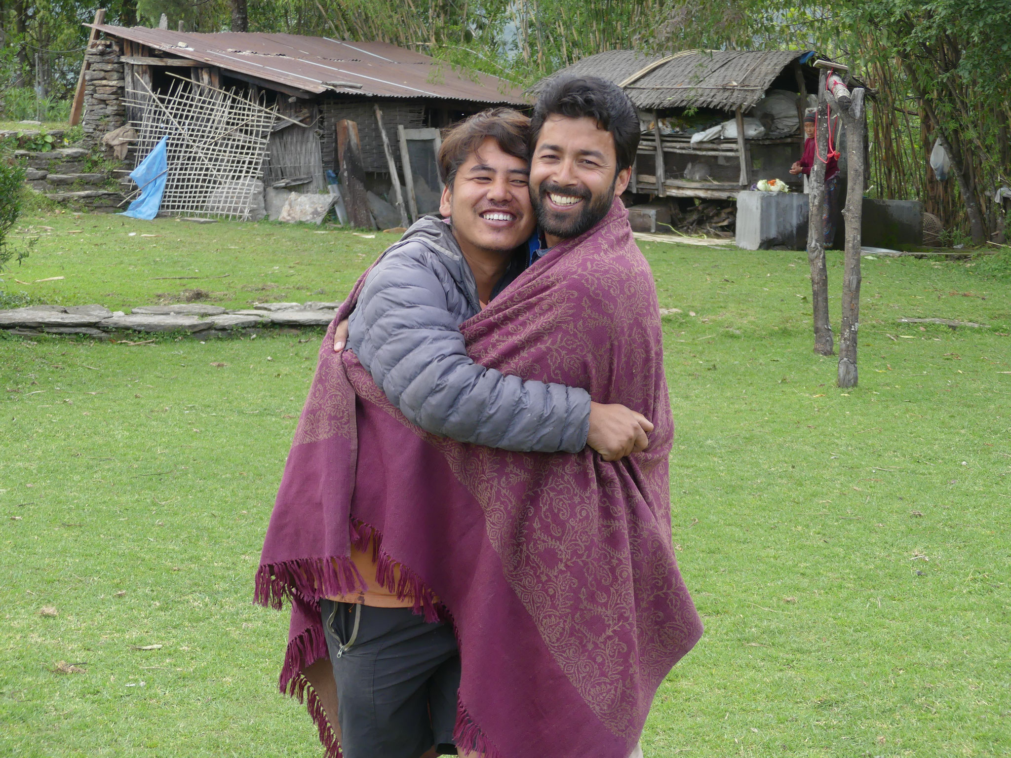 Education for Nepal - Deepen & Yogesh